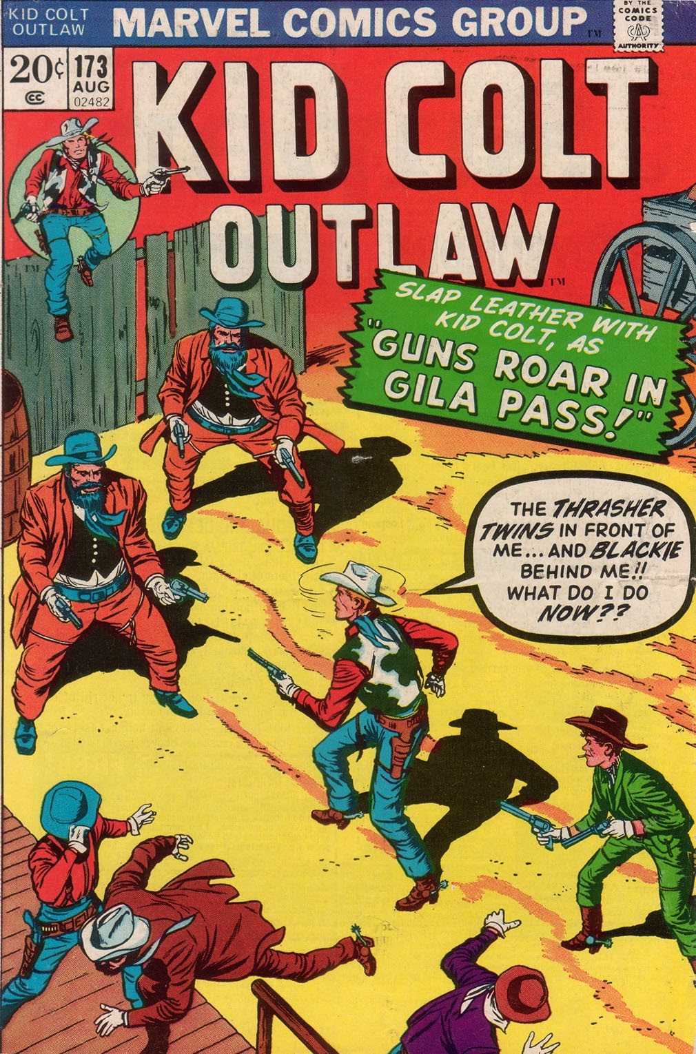 Kid Colt Outlaw issue 173 - Page 1