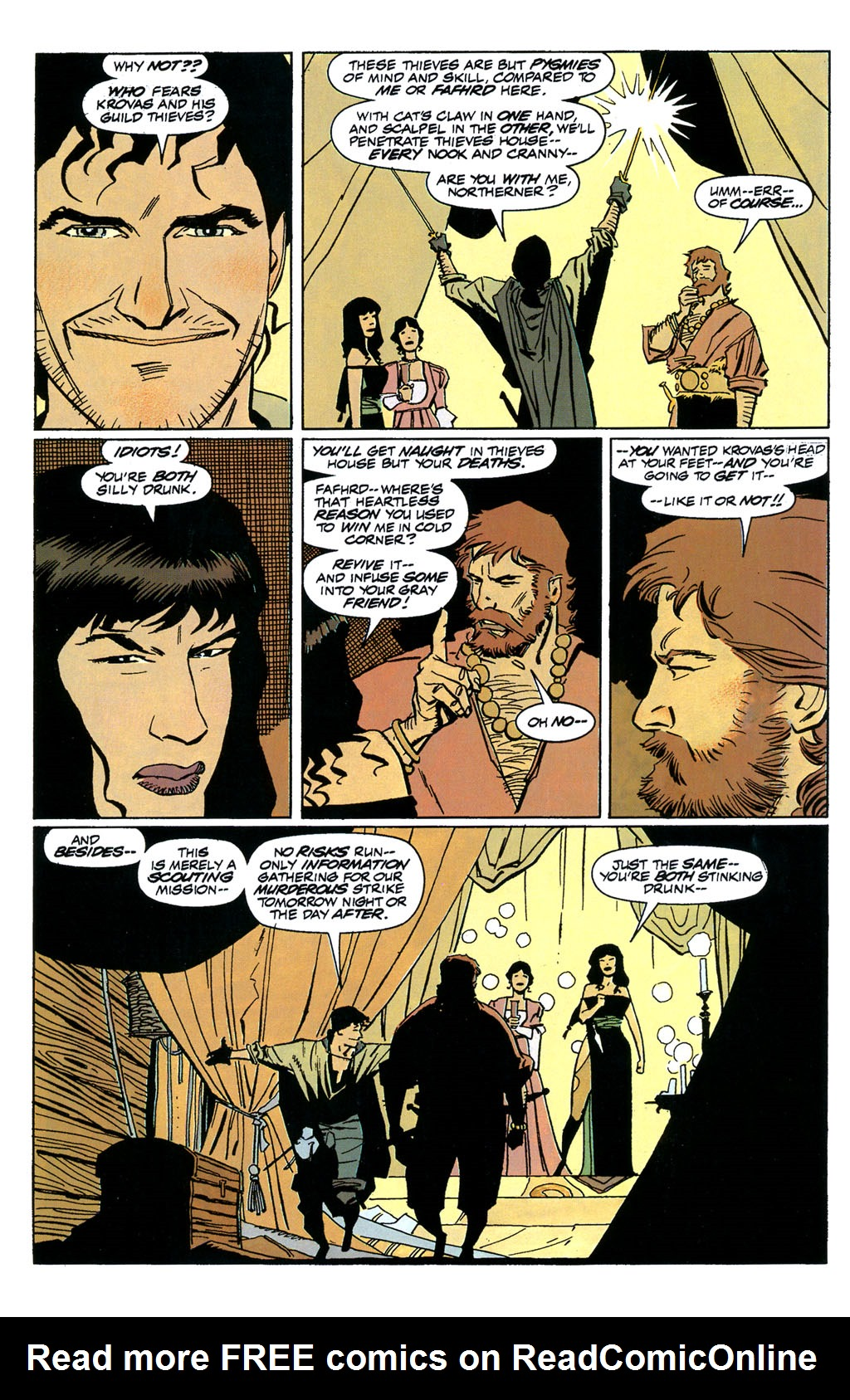 Read online Fafhrd and the Gray Mouser comic -  Issue #1 - 15