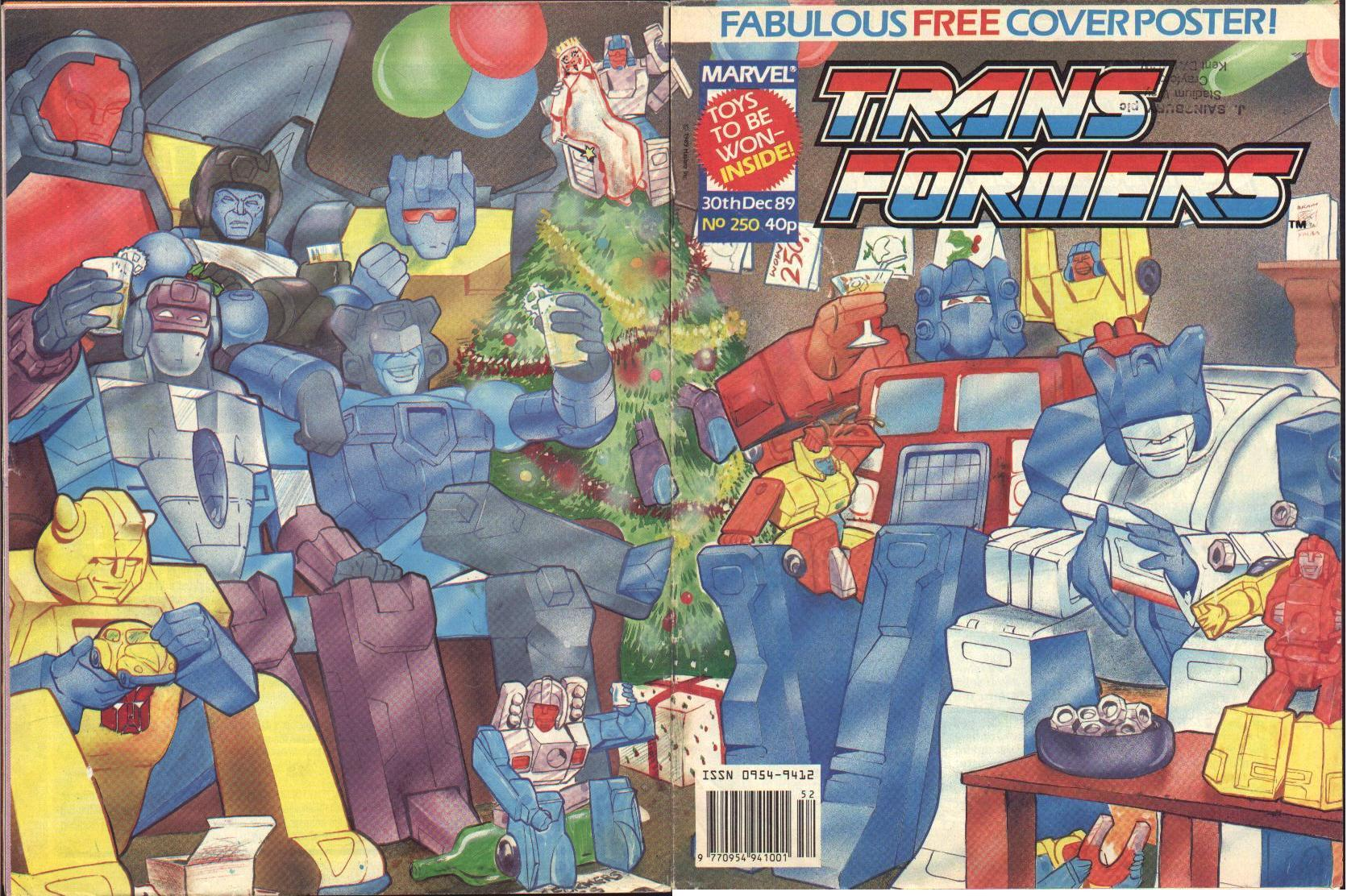The Transformers (UK) 250 Page 1