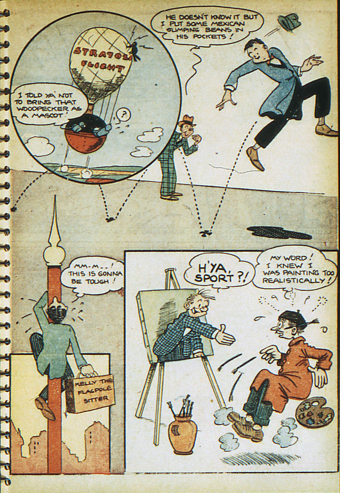 Read online Adventure Comics (1938) comic -  Issue #23 - 23