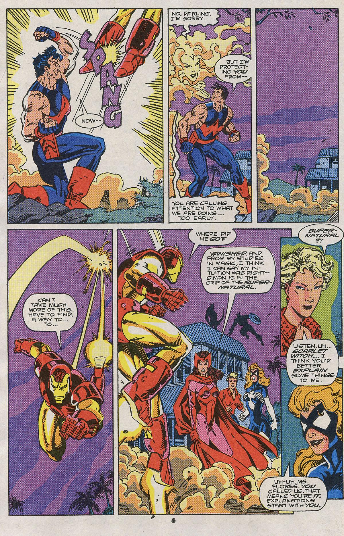 Read online Wonder Man (1991) comic -  Issue #2 - 6