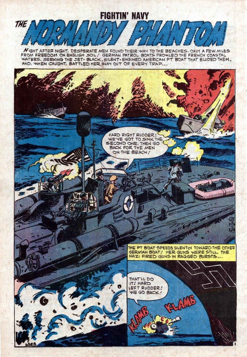 Read online Fightin' Navy comic -  Issue #94 - 26