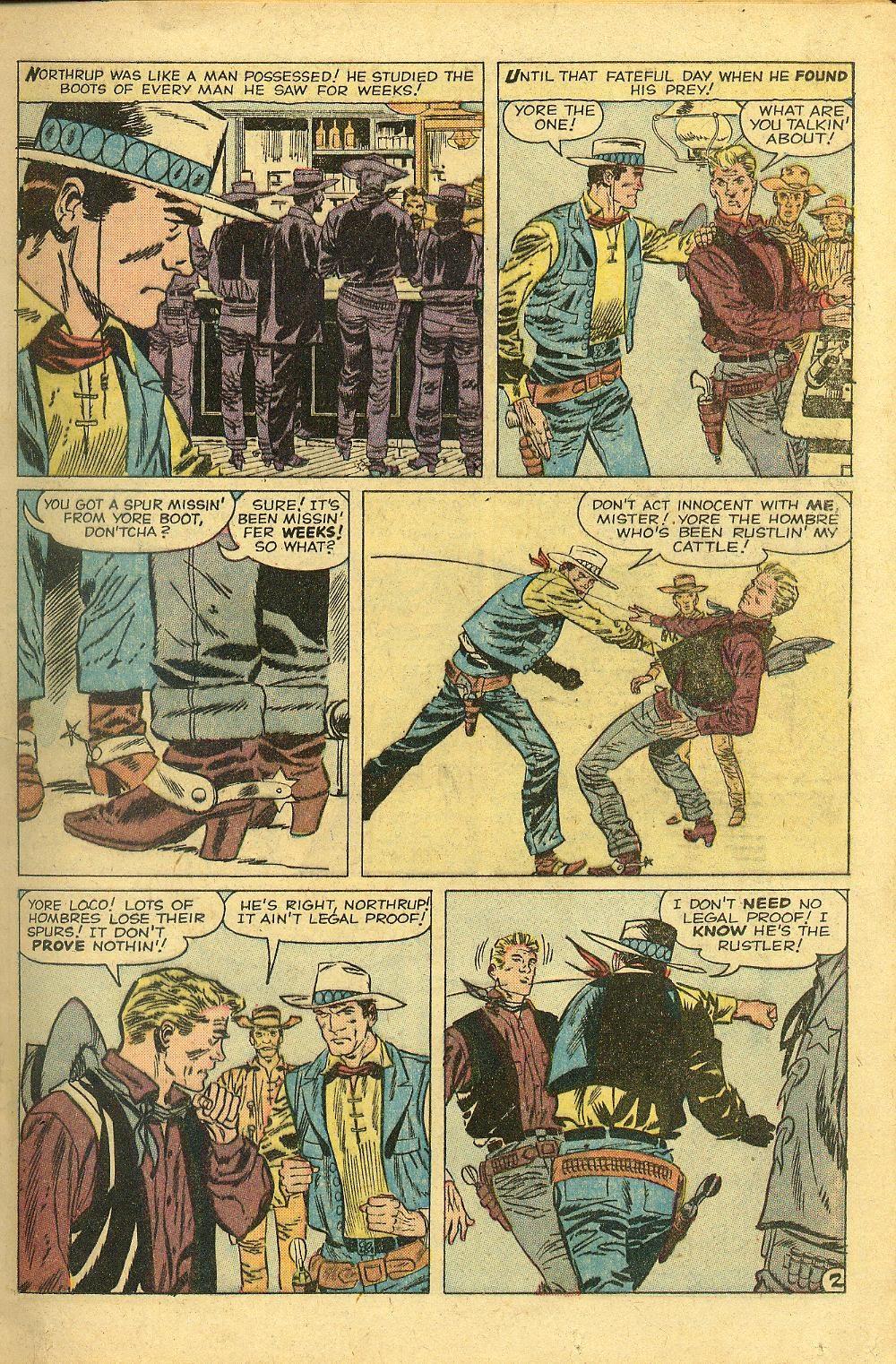 Gunsmoke Western issue 58 - Page 17