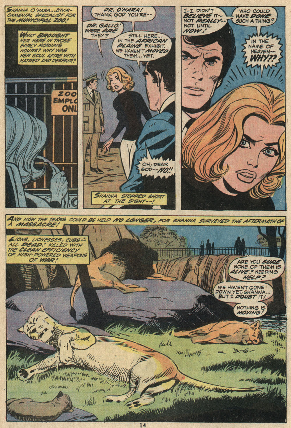 Read online Shanna, the She-Devil (1972) comic -  Issue #1 - 11
