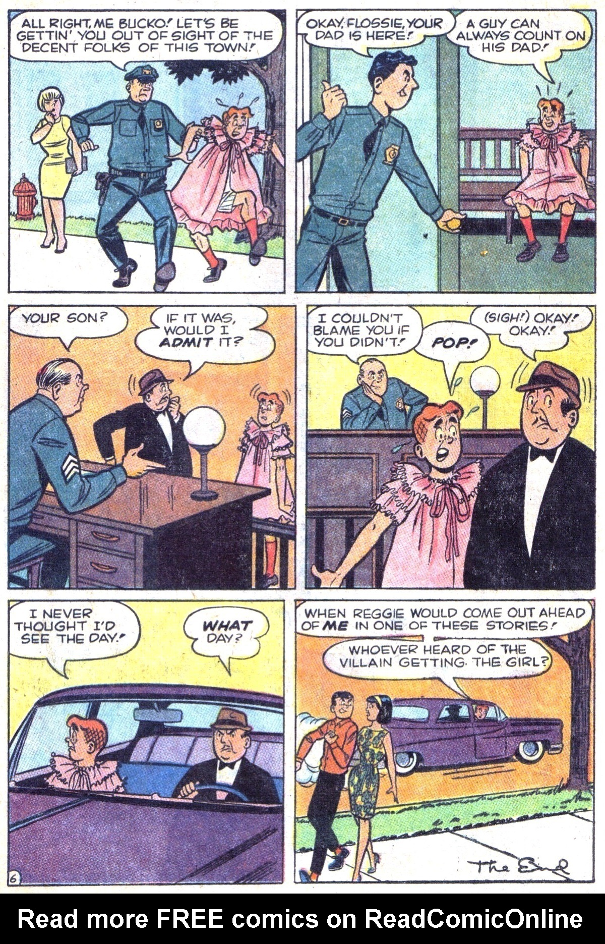 Read online Archie (1960) comic -  Issue #158 - 8