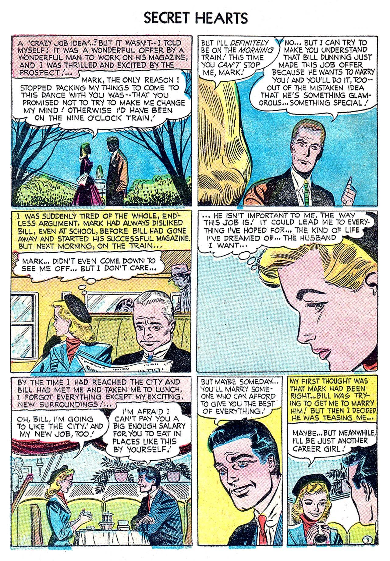 Read online Secret Hearts comic -  Issue #32 - 12