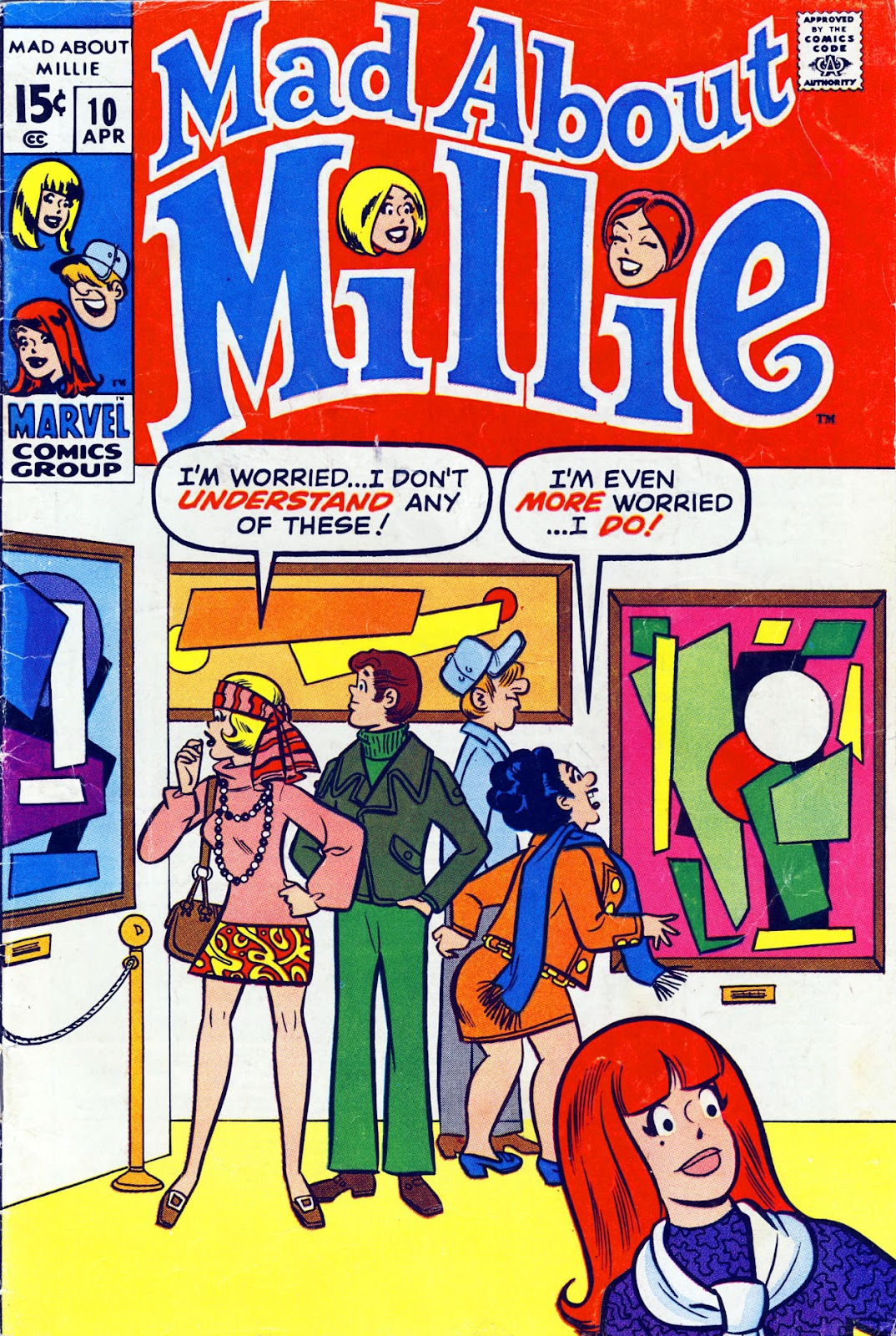 Mad About Millie issue 10 - Page 1