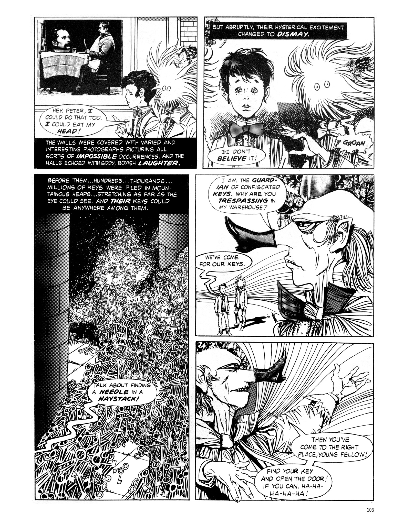 Read online Eerie Archives comic -  Issue # TPB 16 - 104