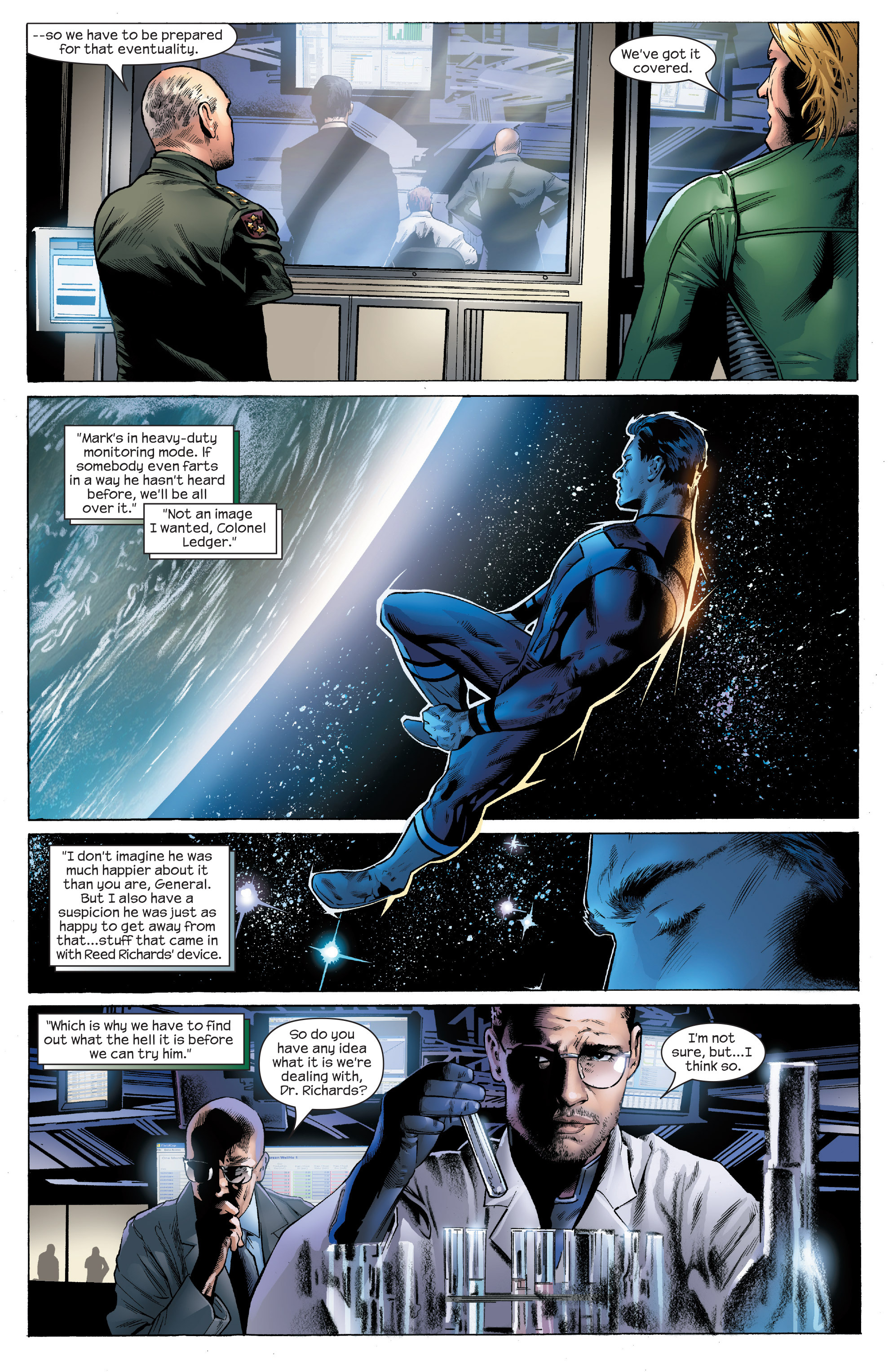 Read online Ultimate Power comic -  Issue #4 - 12