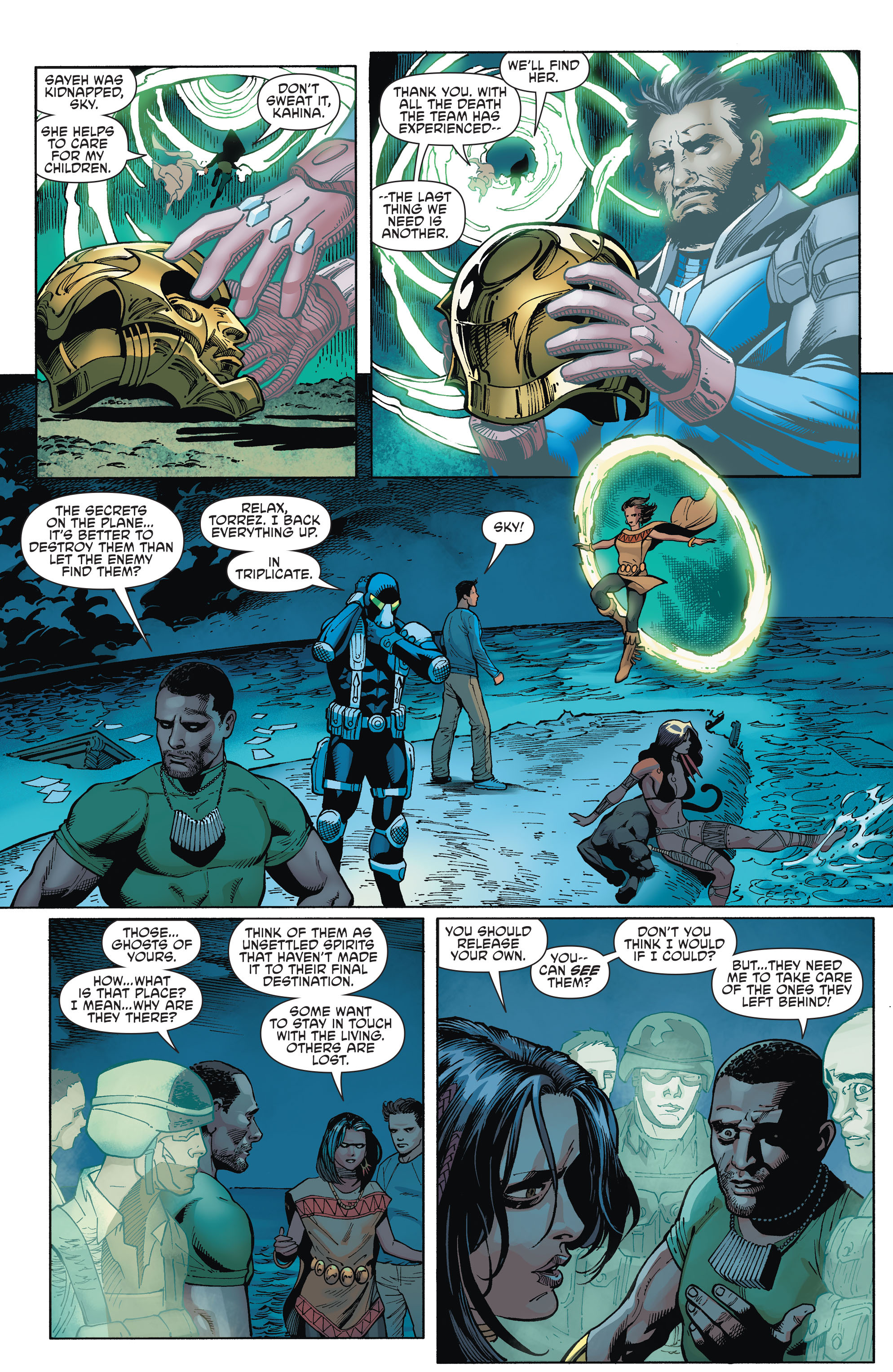 Read online Aquaman and the Others comic -  Issue #2 - 8