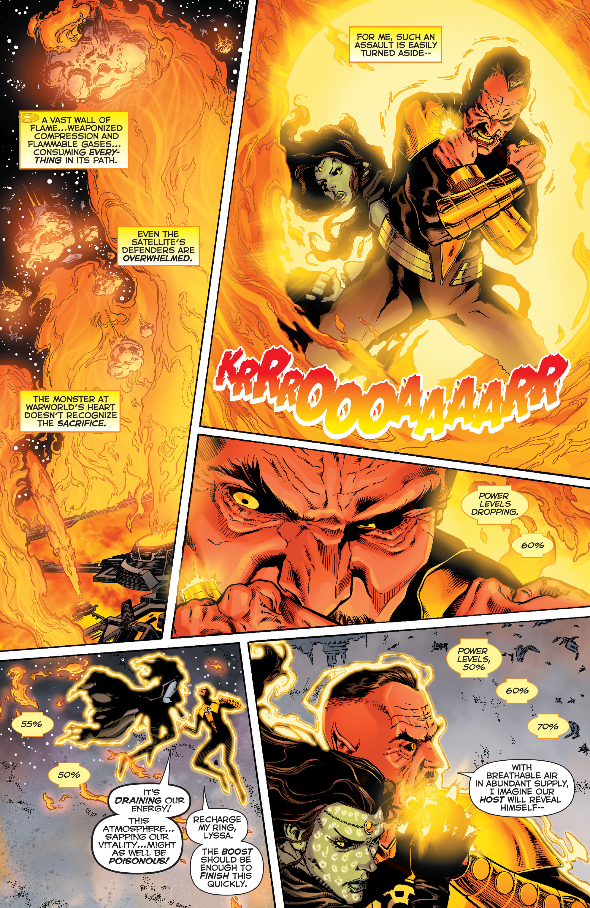 Read online Sinestro comic -  Issue #9 - 15
