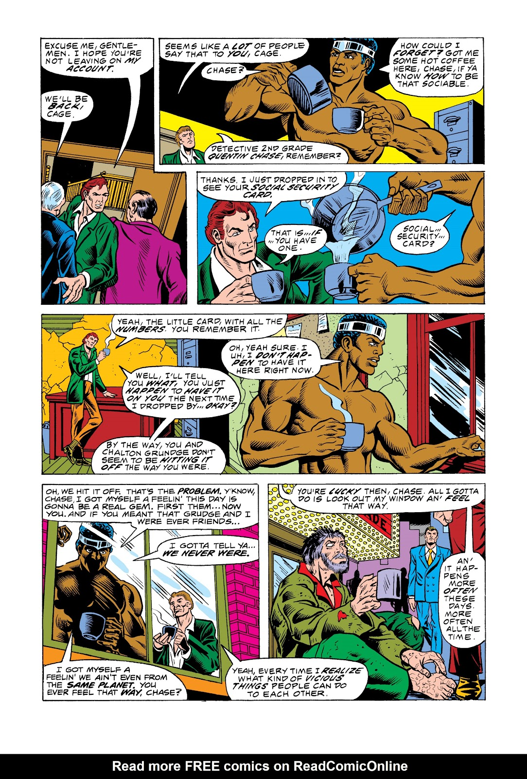 Read online Marvel Masterworks: Luke Cage, Power Man comic -  Issue # TPB 2 (Part 3) - 70