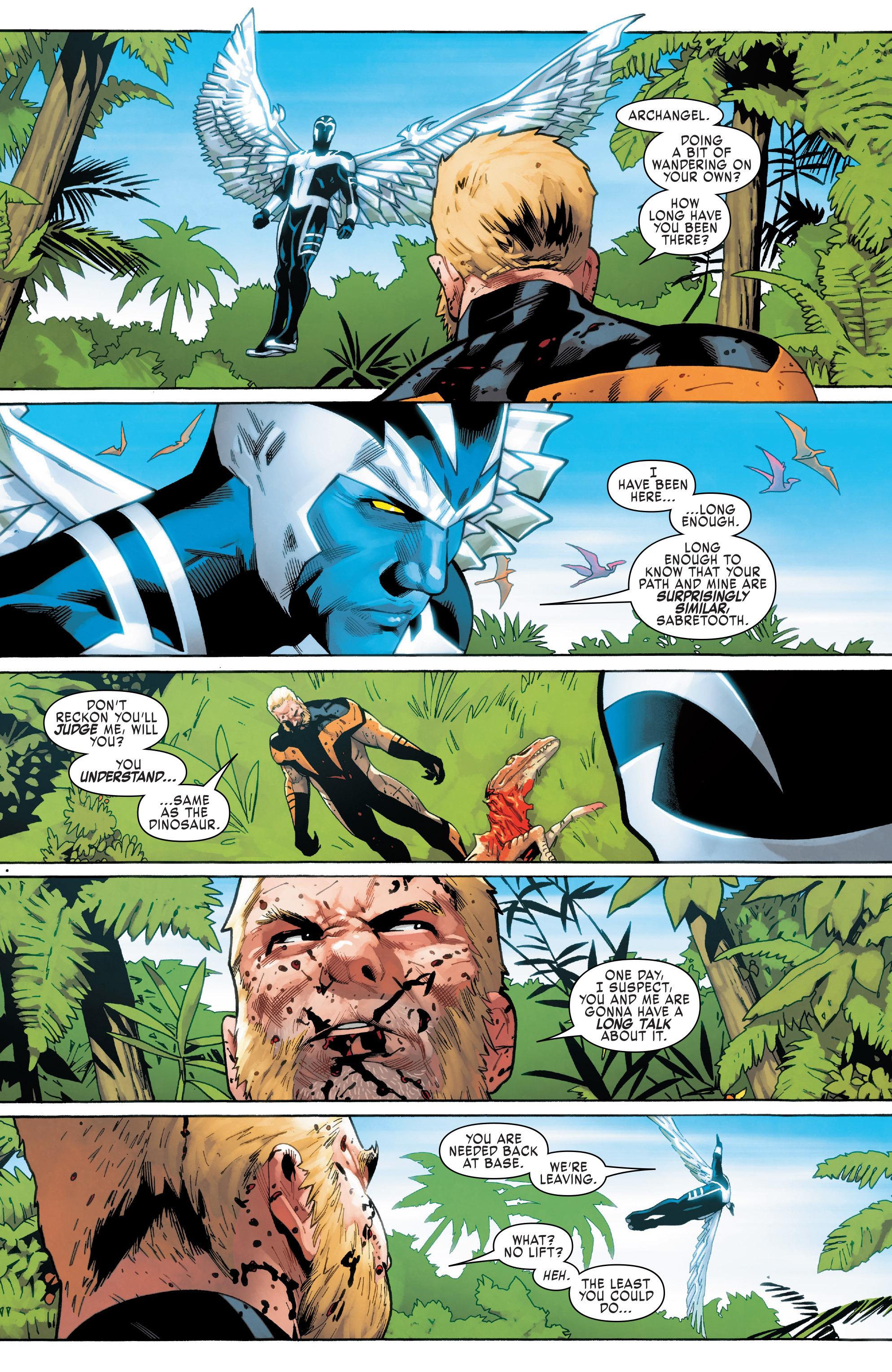 Read online Uncanny X-Men (2016) comic -  Issue #11 - 18