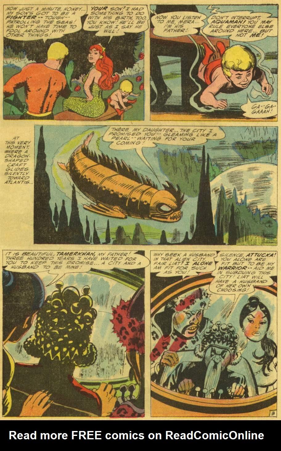 Read online Aquaman (1962) comic -  Issue #25 - 5