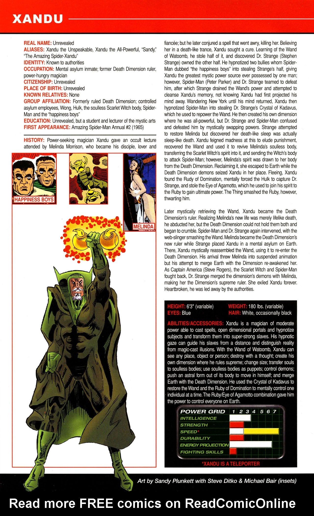 Read online All-New Official Handbook of the Marvel Universe A to Z comic -  Issue #12 - 50