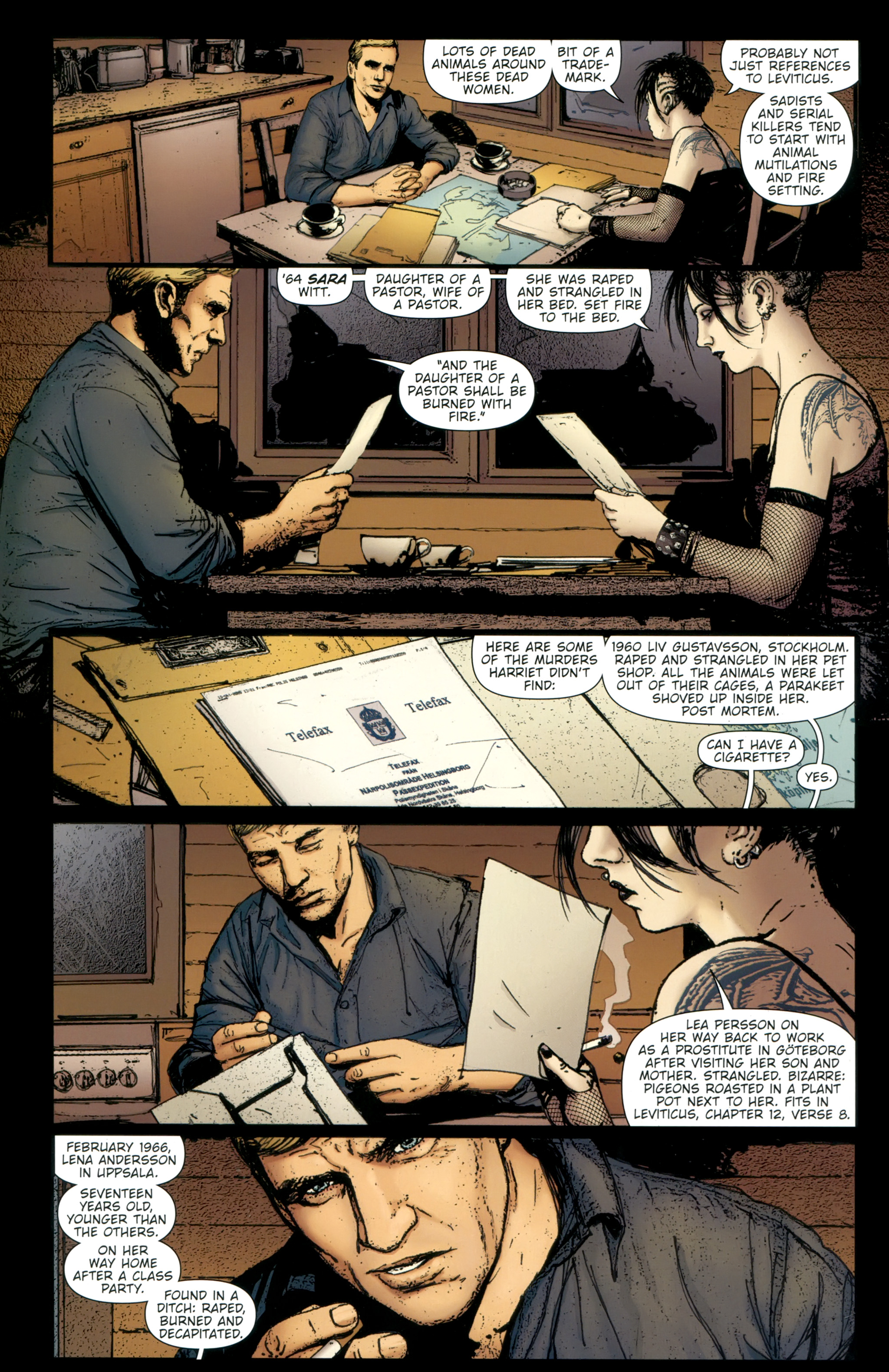 Read online The Girl With the Dragon Tattoo comic -  Issue # TPB 2 - 66