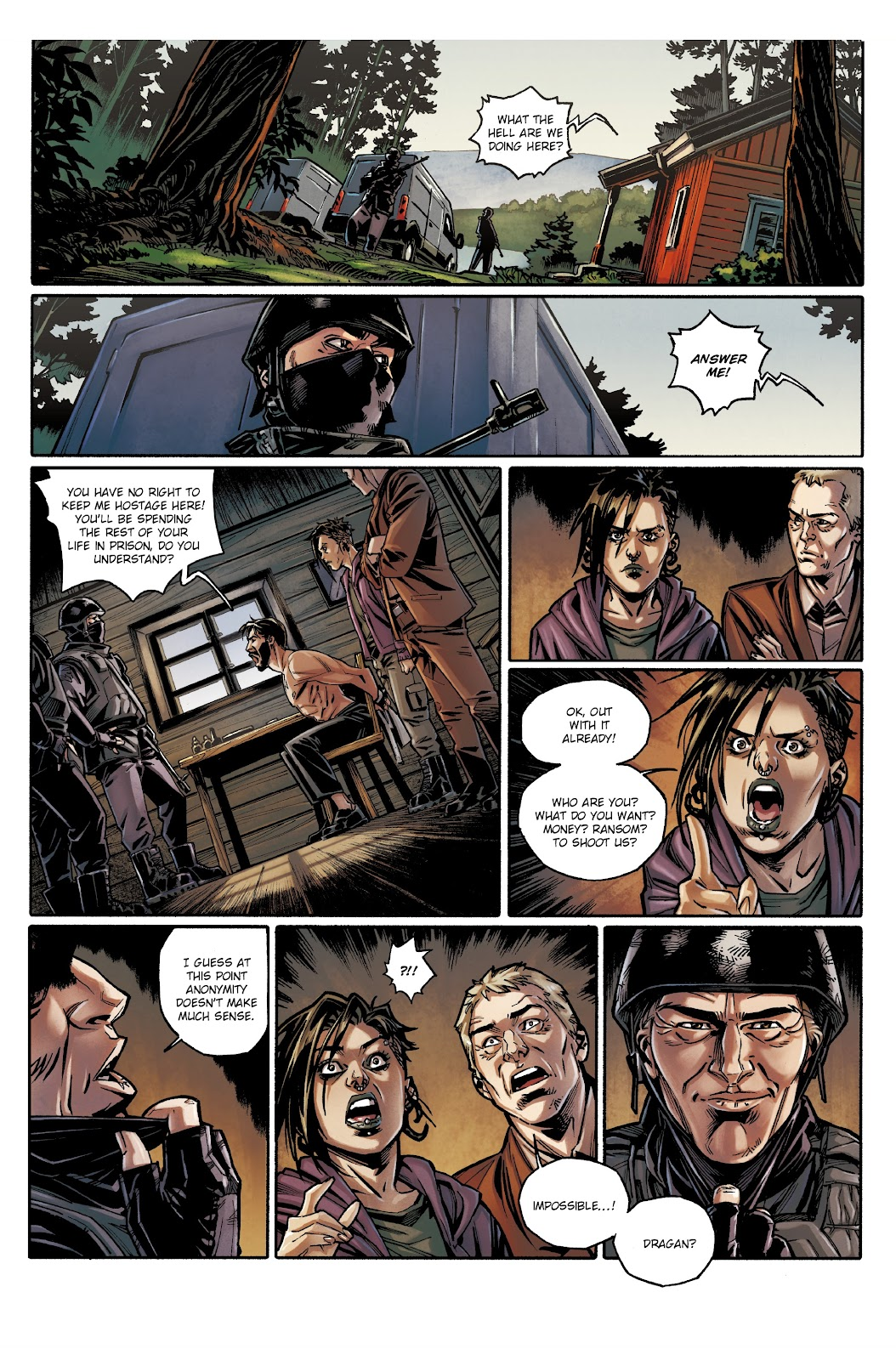 Read online Millennium: The Girl Who Danced With Death comic -  Issue #3 - 13