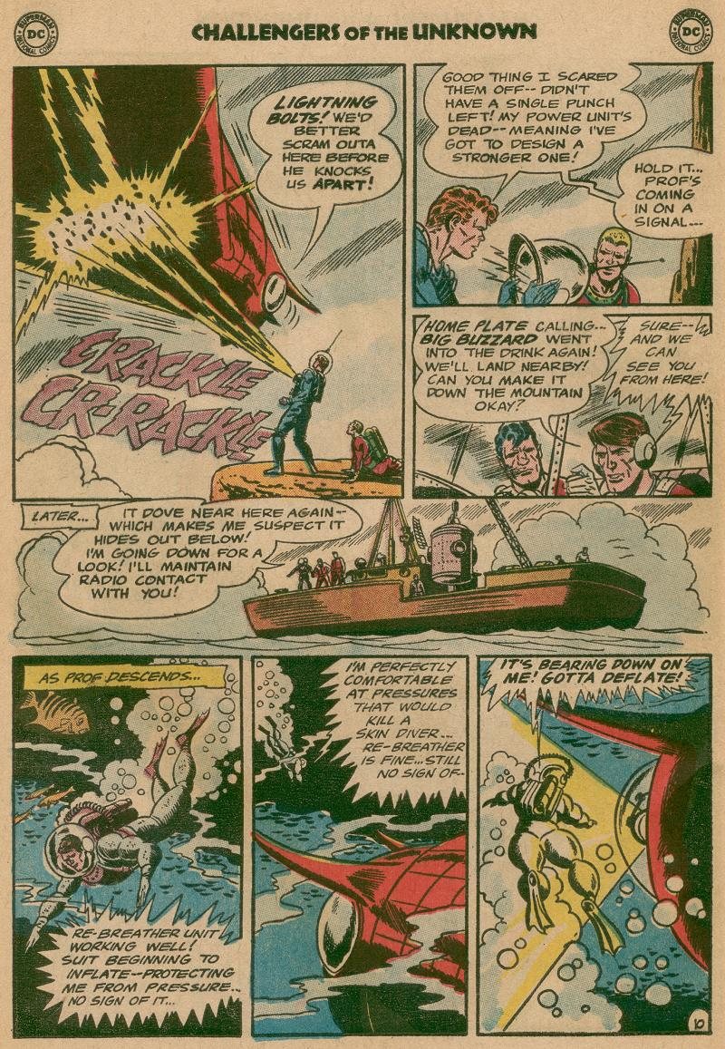 Challengers of the Unknown (1958) issue 40 - Page 12