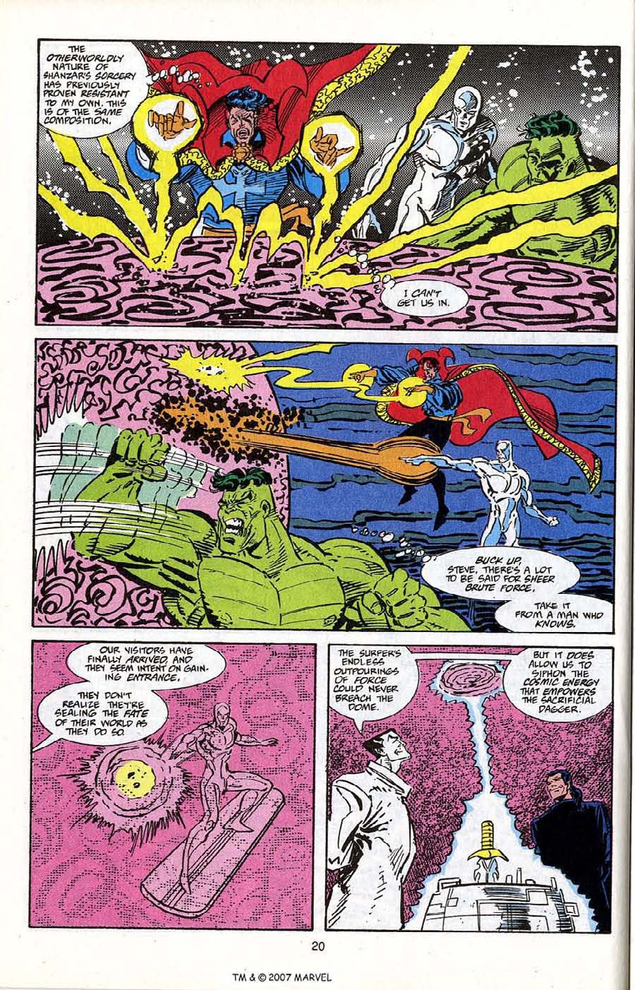 Read online Silver Surfer (1987) comic -  Issue # _Annual 5 - 22