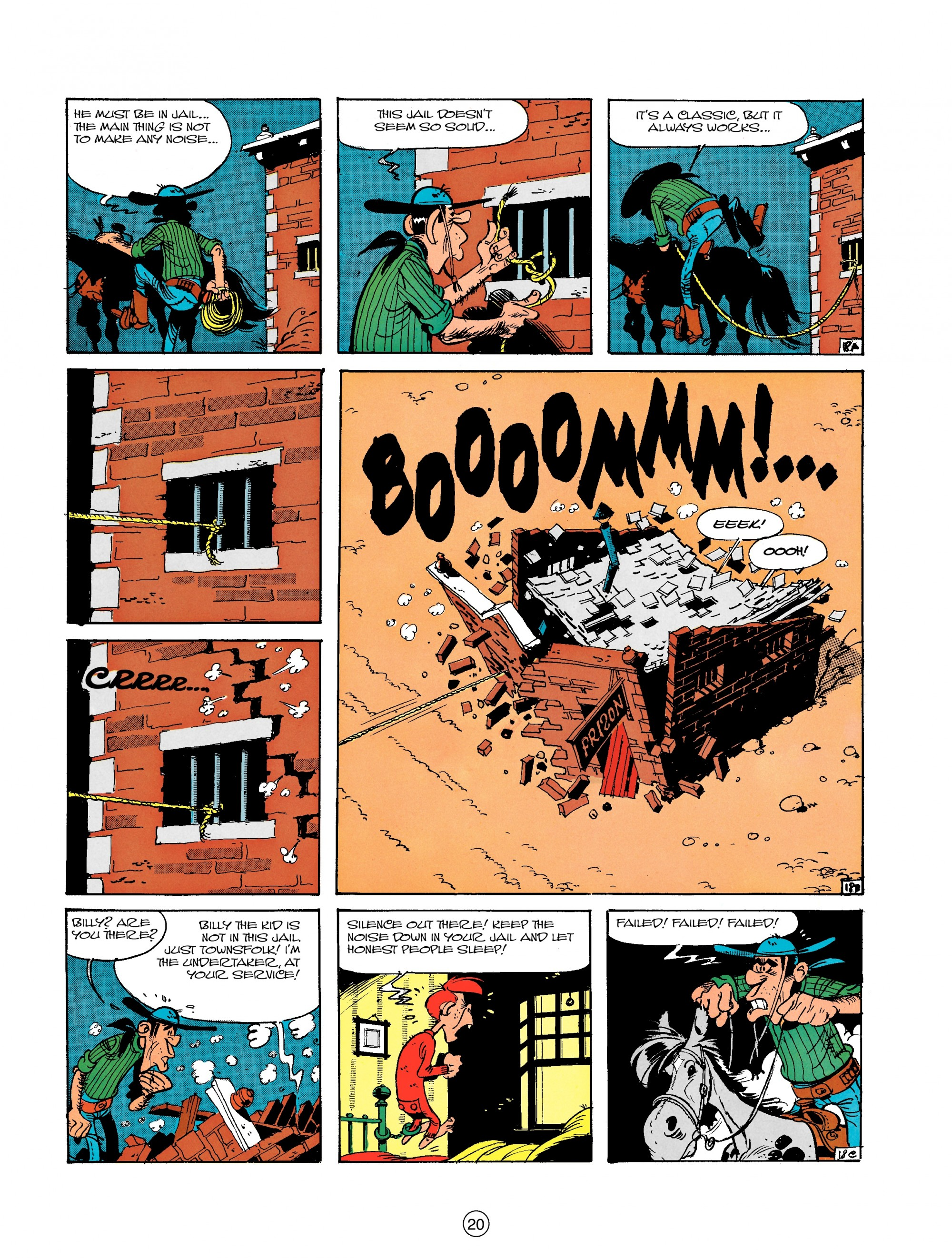 Read online A Lucky Luke Adventure comic -  Issue #18 - 20
