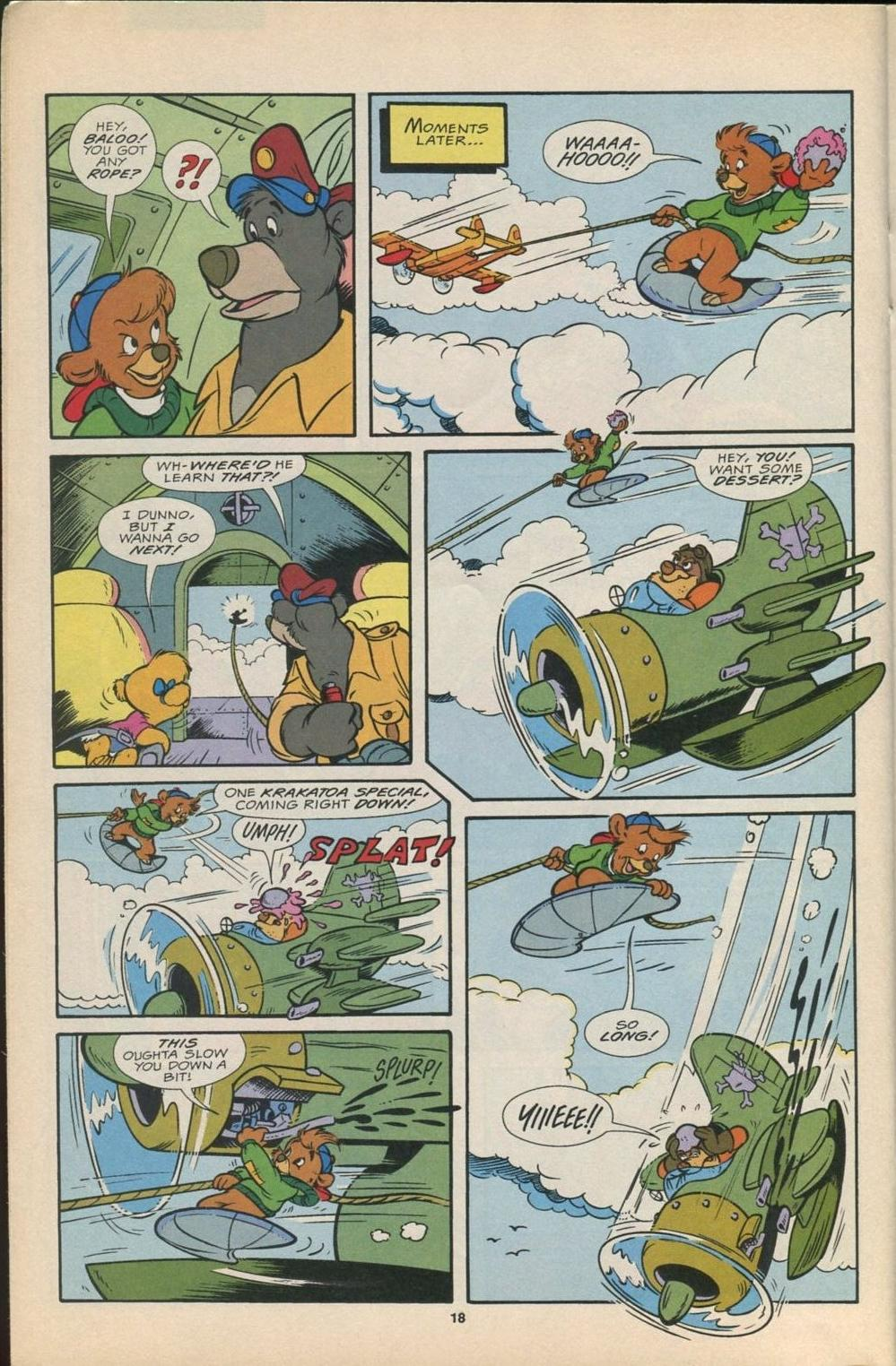 Read online Disney's Tale Spin Limited Series: ''Take Off'' comic -  Issue #2 - 19