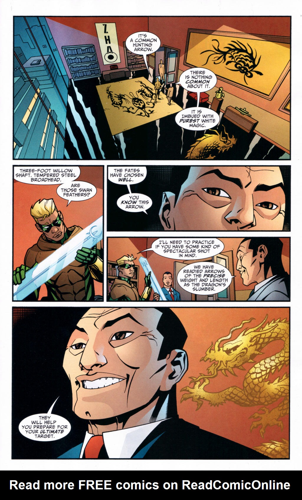 Read online Connor Hawke:  Dragon's Blood comic -  Issue #4 - 22