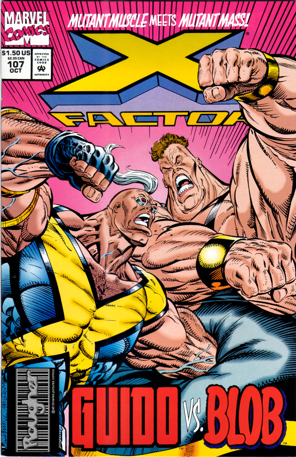 Read online X-Factor (1986) comic -  Issue #107 - 1