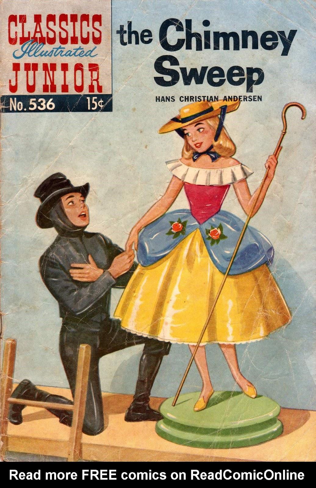 Classics Illustrated Junior 536 Page 1