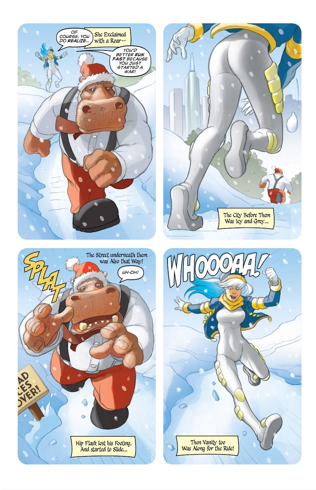 Read online Elephantmen 2261 Season Two: The Pentalion Job comic -  Issue # TPB - 101