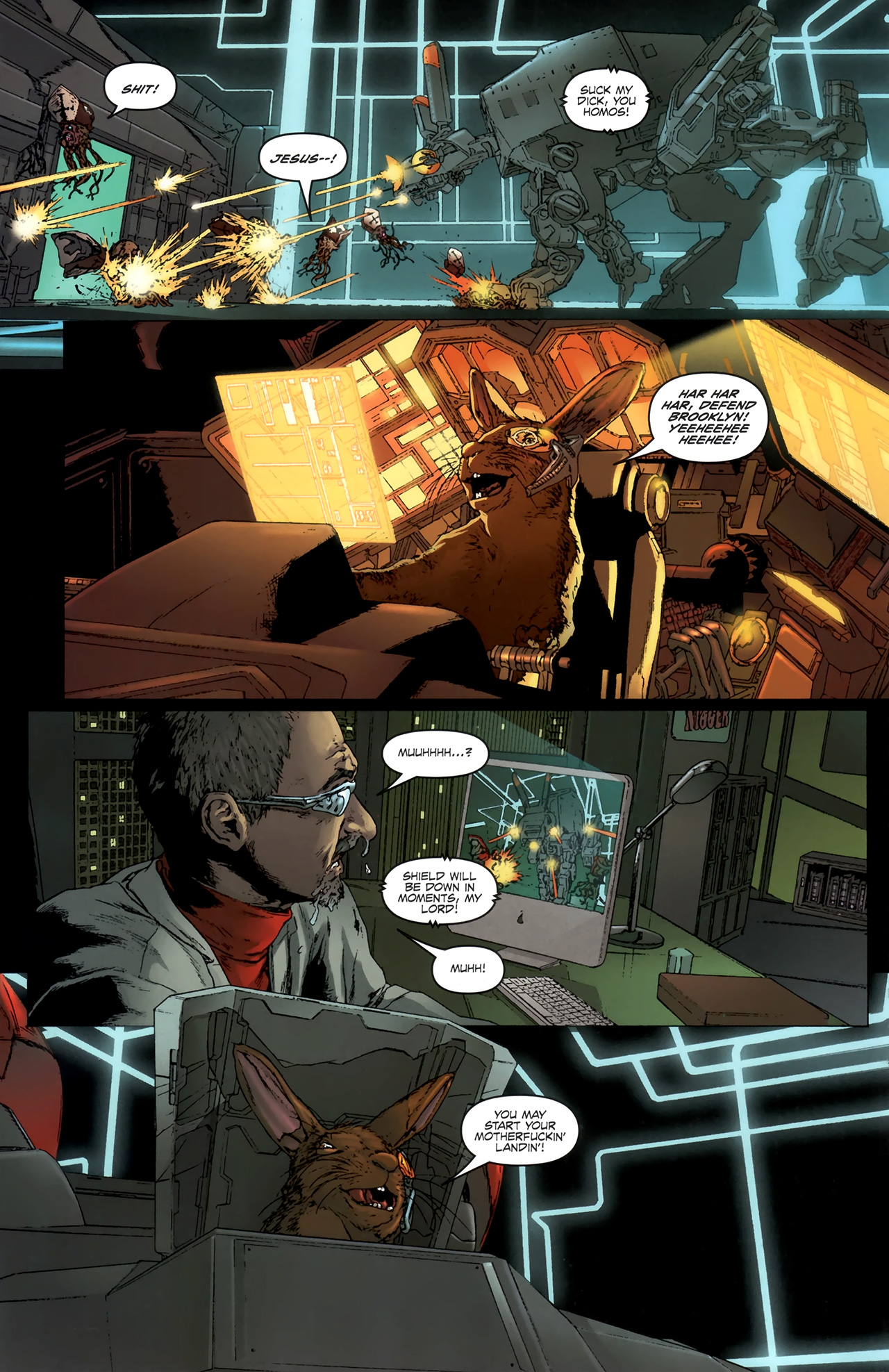 Read online Chronicles of Wormwood: The Last Battle comic -  Issue #6 - 15
