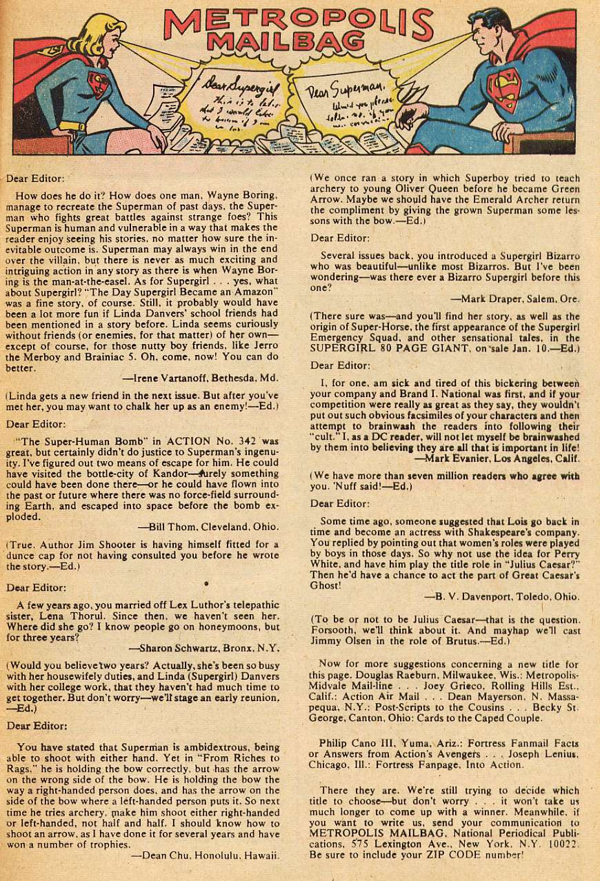 Read online Action Comics (1938) comic -  Issue #346 - 33