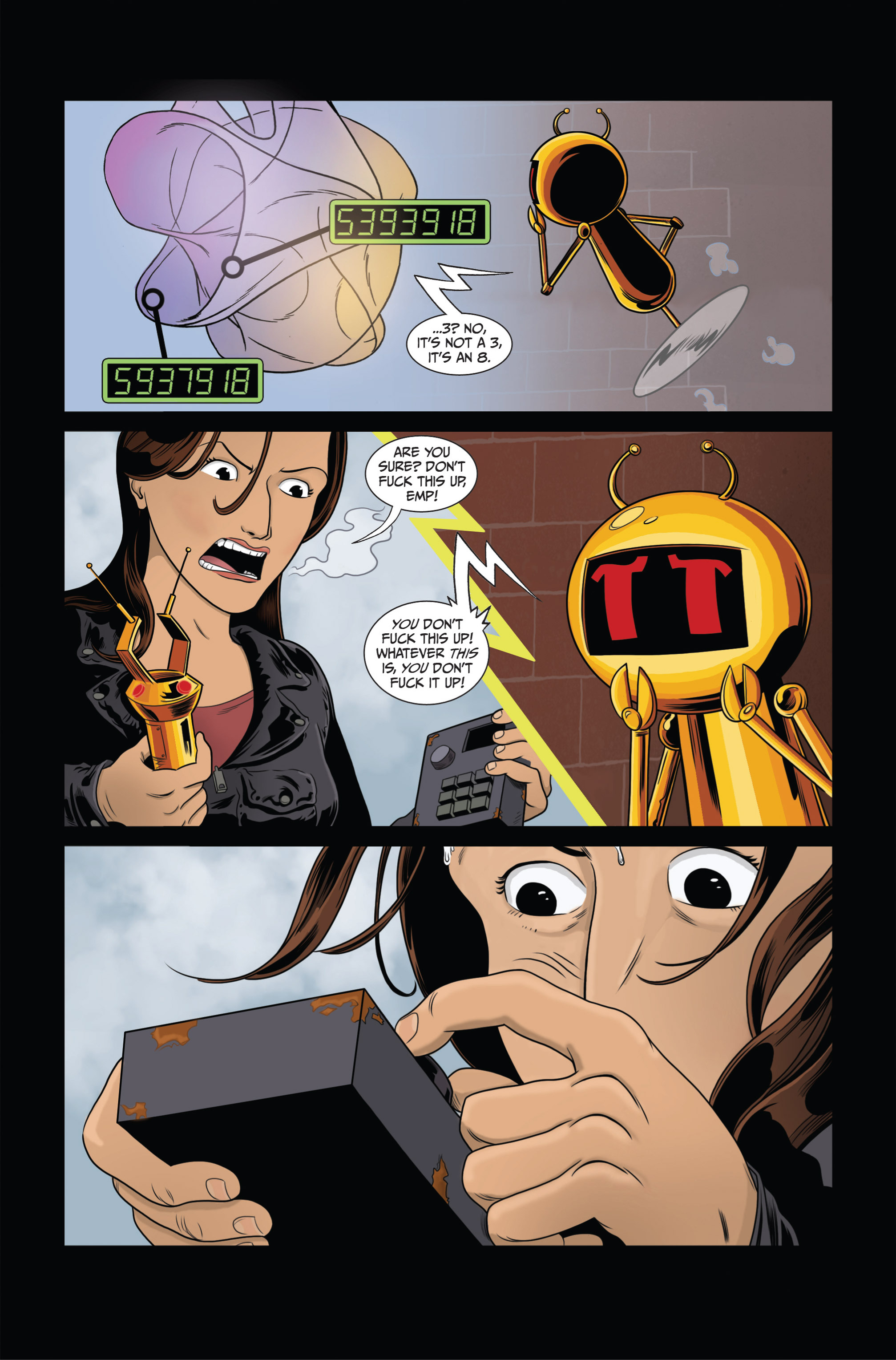 Read online Ehmm Theory: Everything & Small Doses comic -  Issue #3 - 19