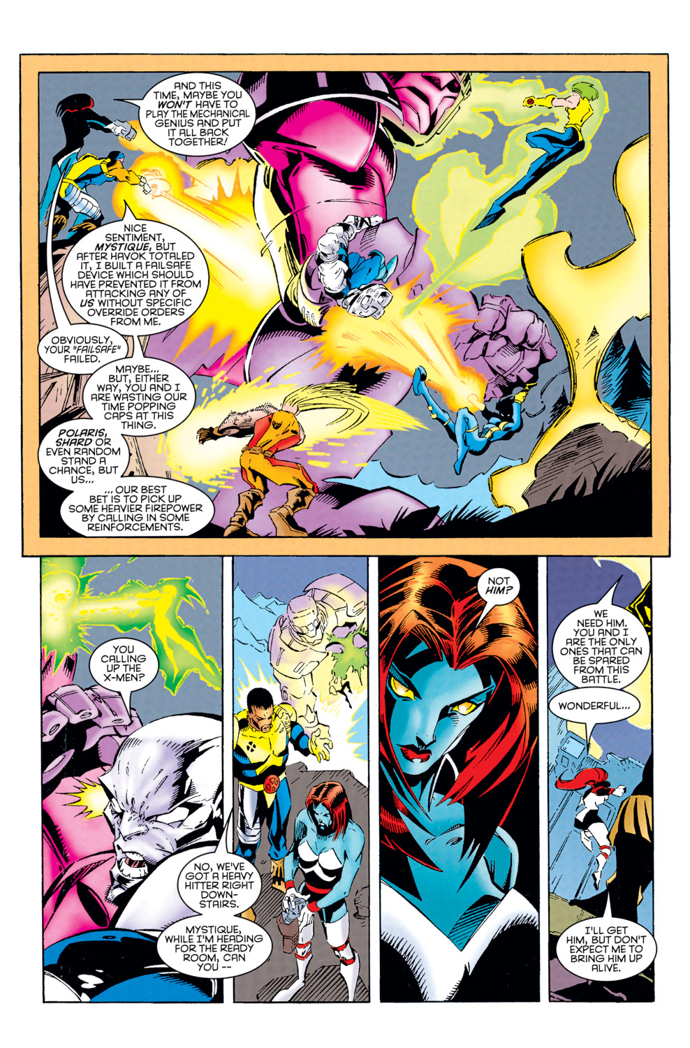 Read online X-Factor (1986) comic -  Issue #125 - 7