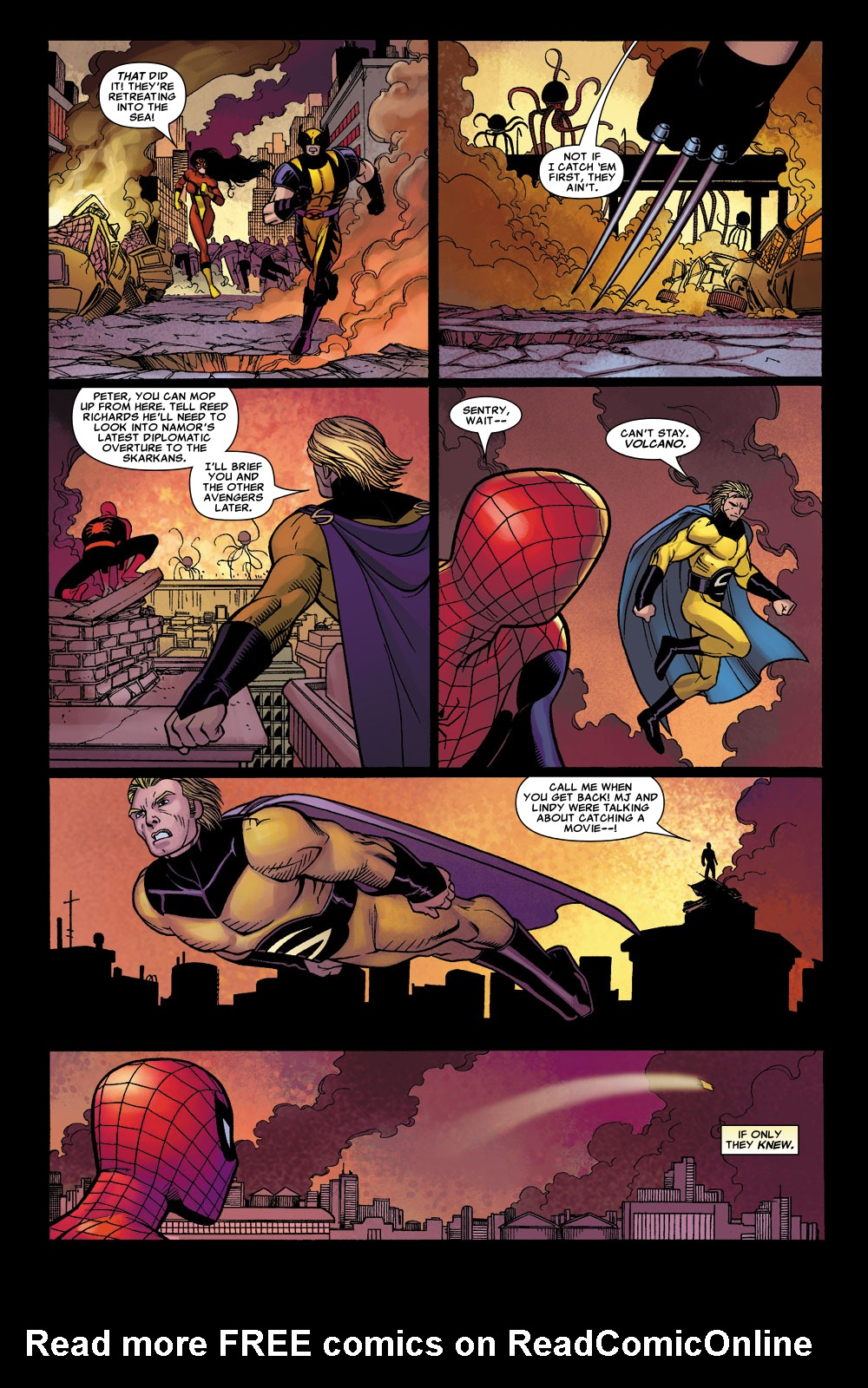 Read online Sentry (2006) comic -  Issue #1 - 7