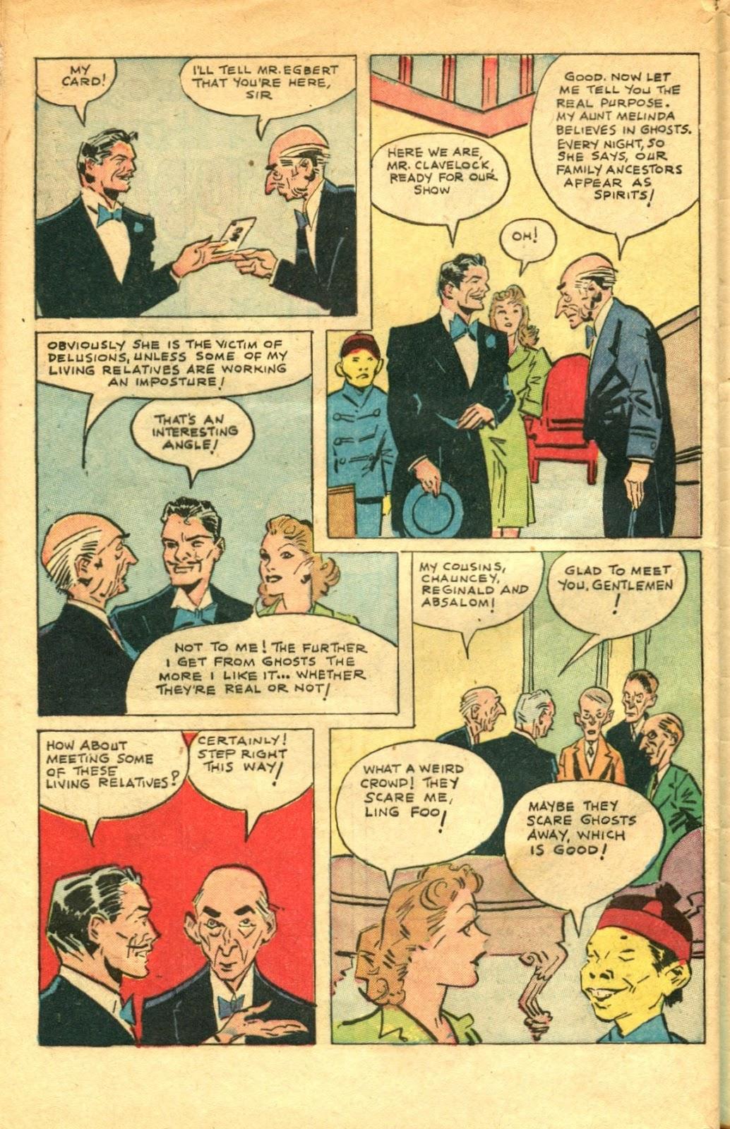 Read online Super-Magician Comics comic -  Issue #48 - 44