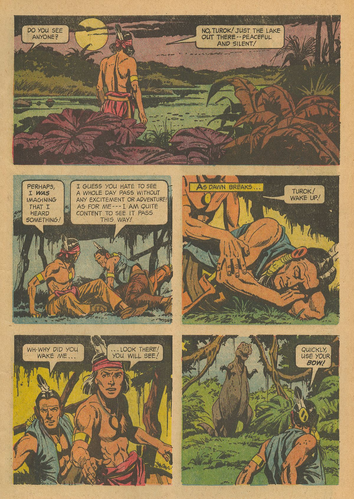 Read online Turok, Son of Stone comic -  Issue #43 - 5