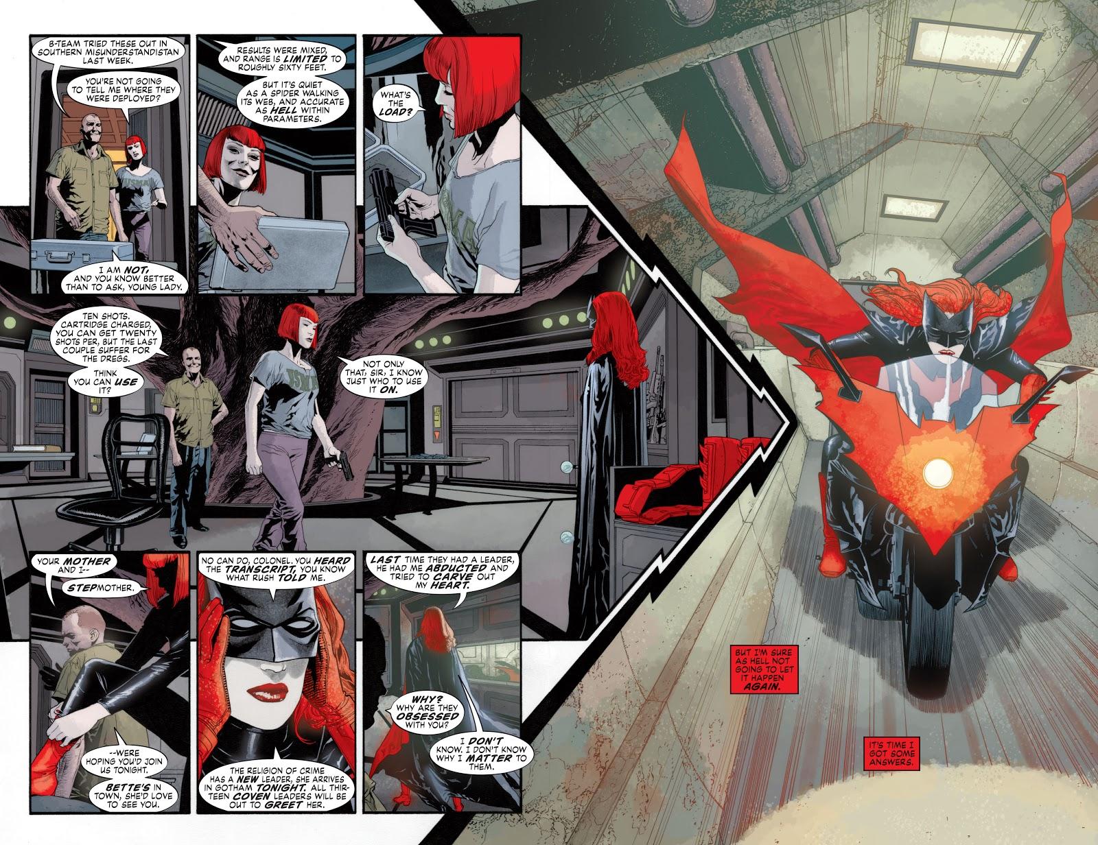 Read online Detective Comics (1937) comic -  Issue # _TPB Batwoman – Elegy (New Edition) (Part 1) - 21