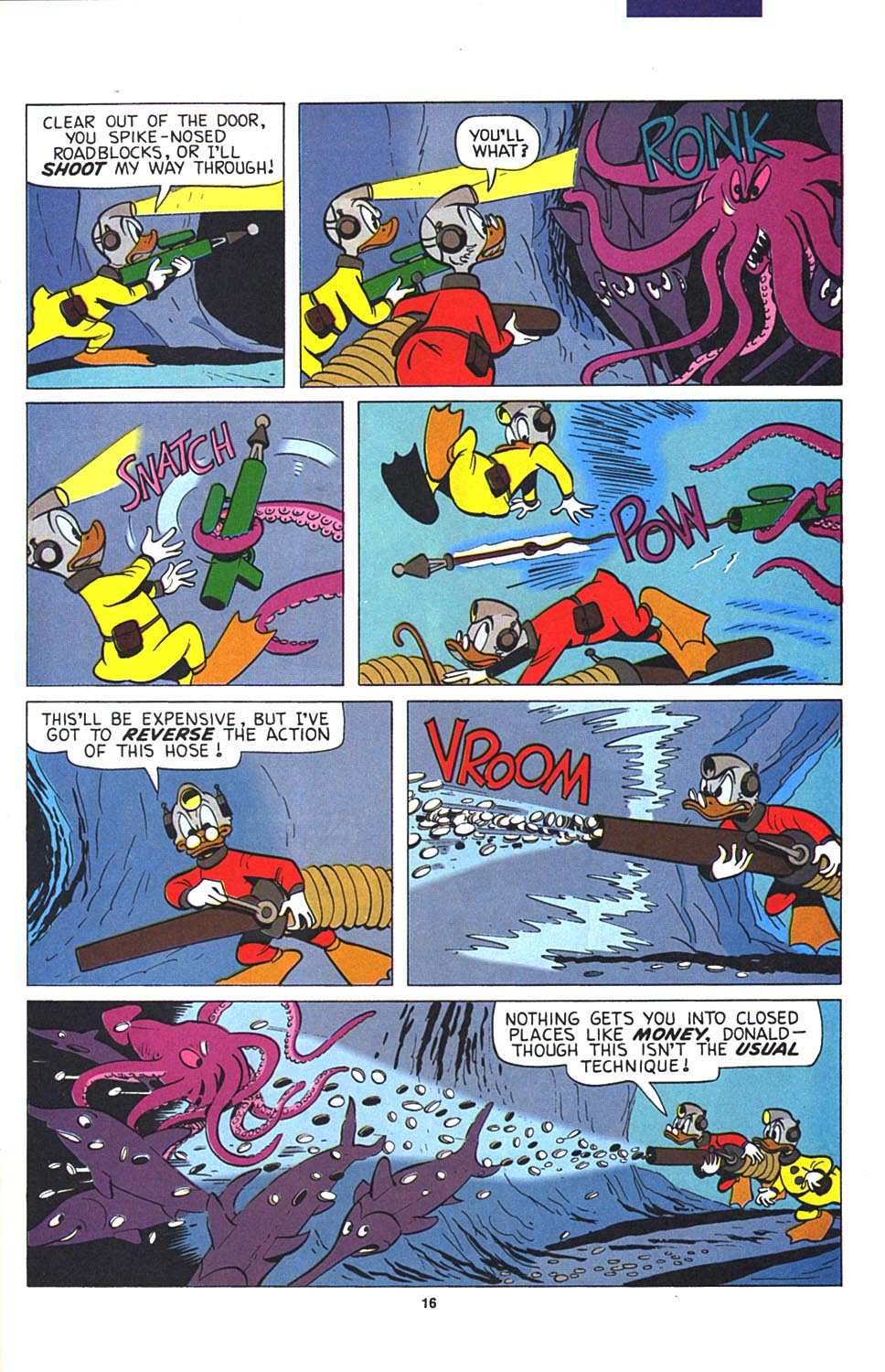 Read online Uncle Scrooge (1953) comic -  Issue #274 - 17