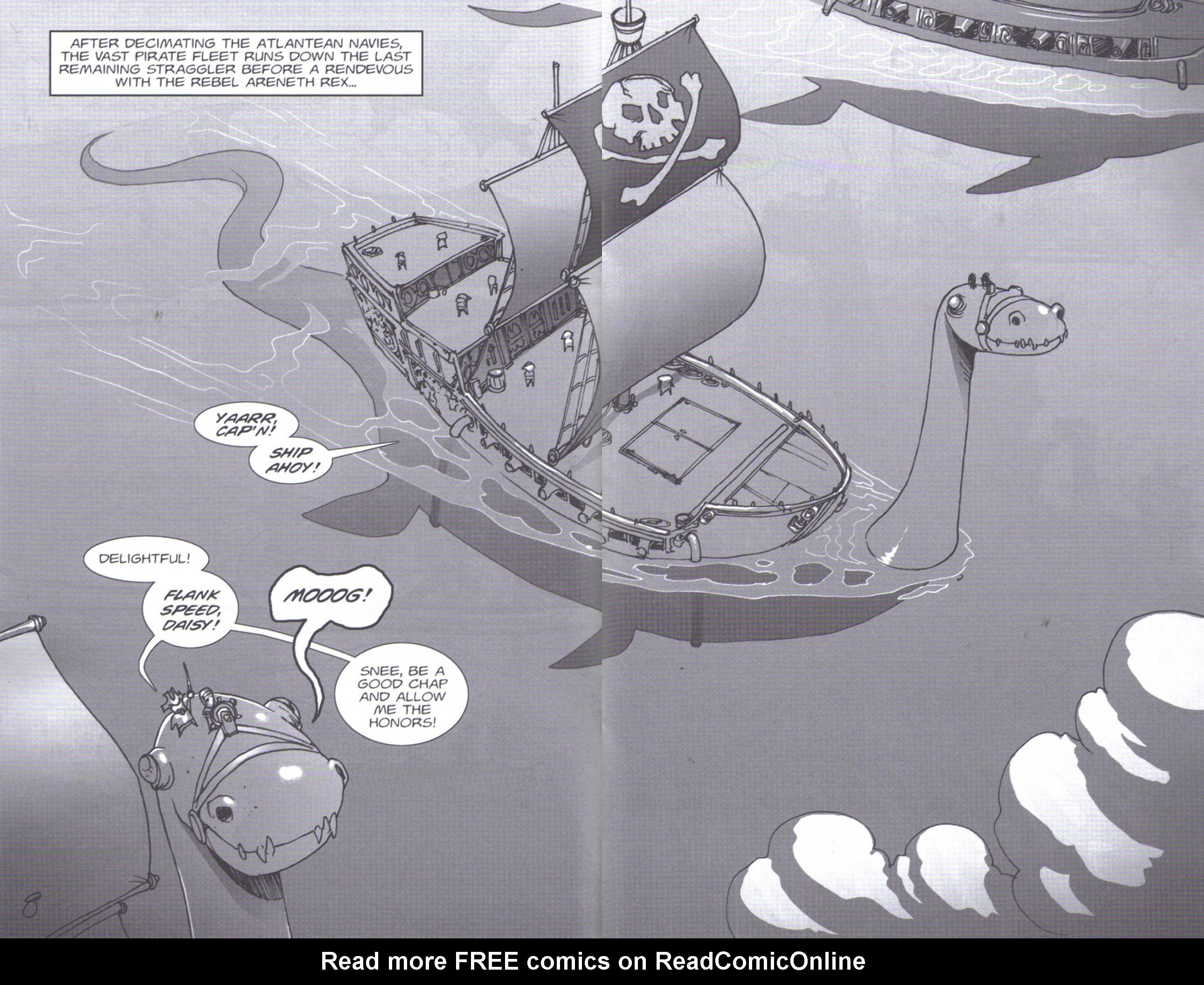 Read online Pirates vs. Ninjas: Global Harming comic -  Issue # Full - 9