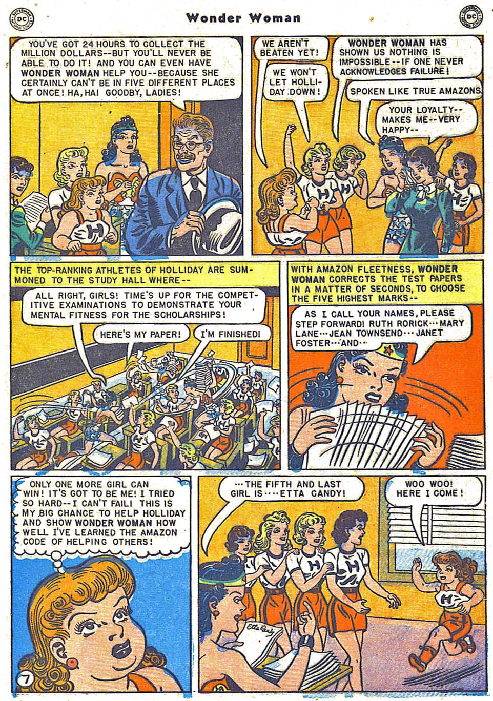 Read online Wonder Woman (1942) comic -  Issue #38 - 43