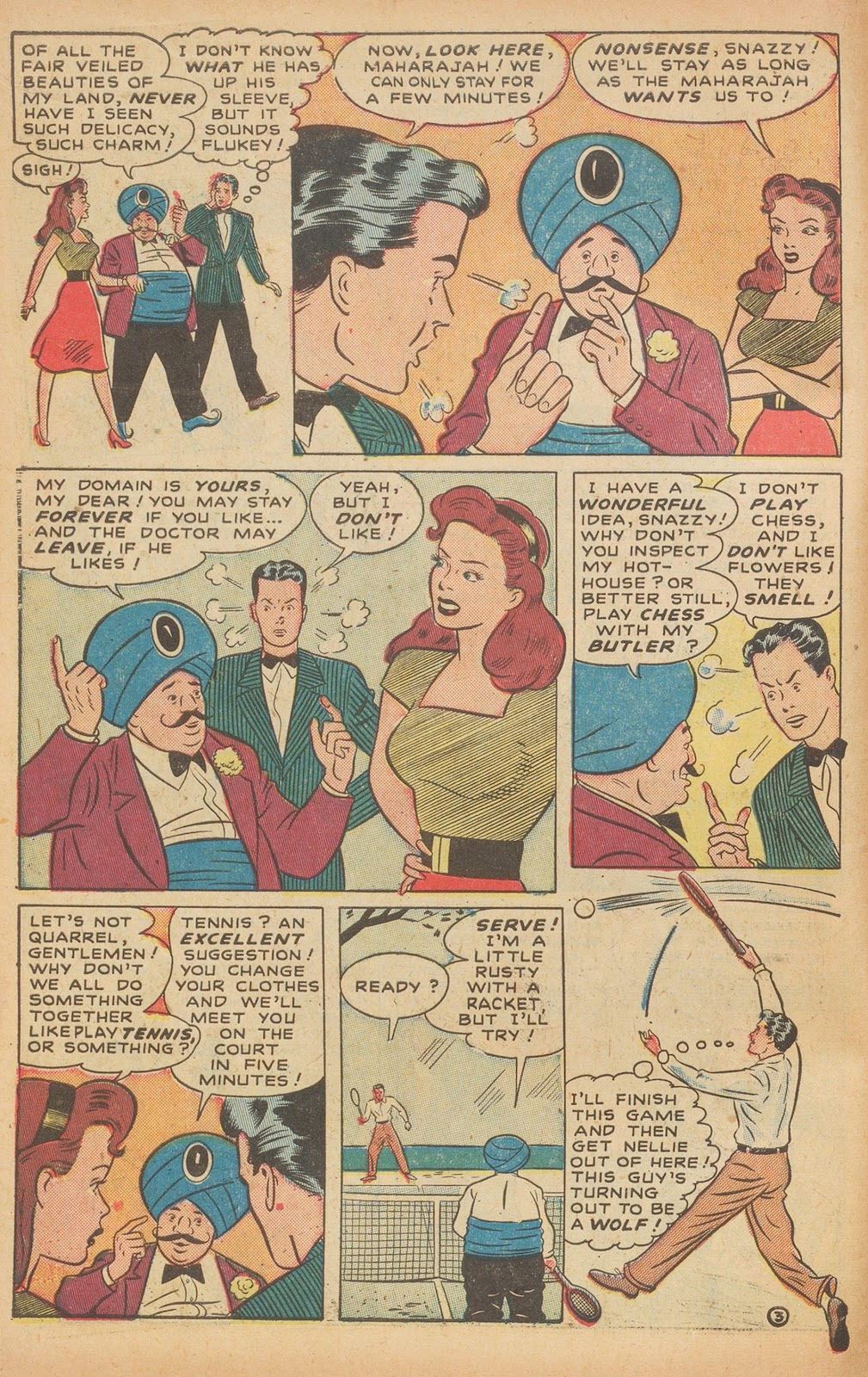 Read online Nellie The Nurse (1945) comic -  Issue #15 - 14