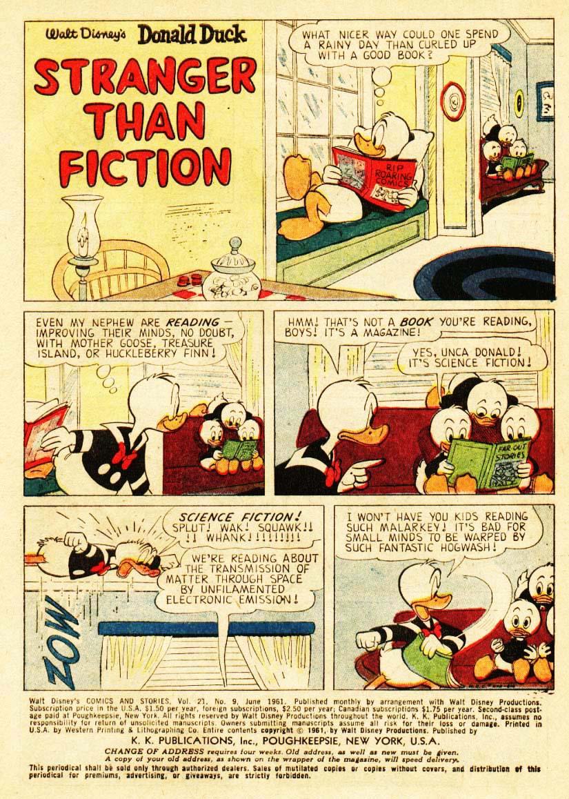 Walt Disneys Comics and Stories 249 Page 2