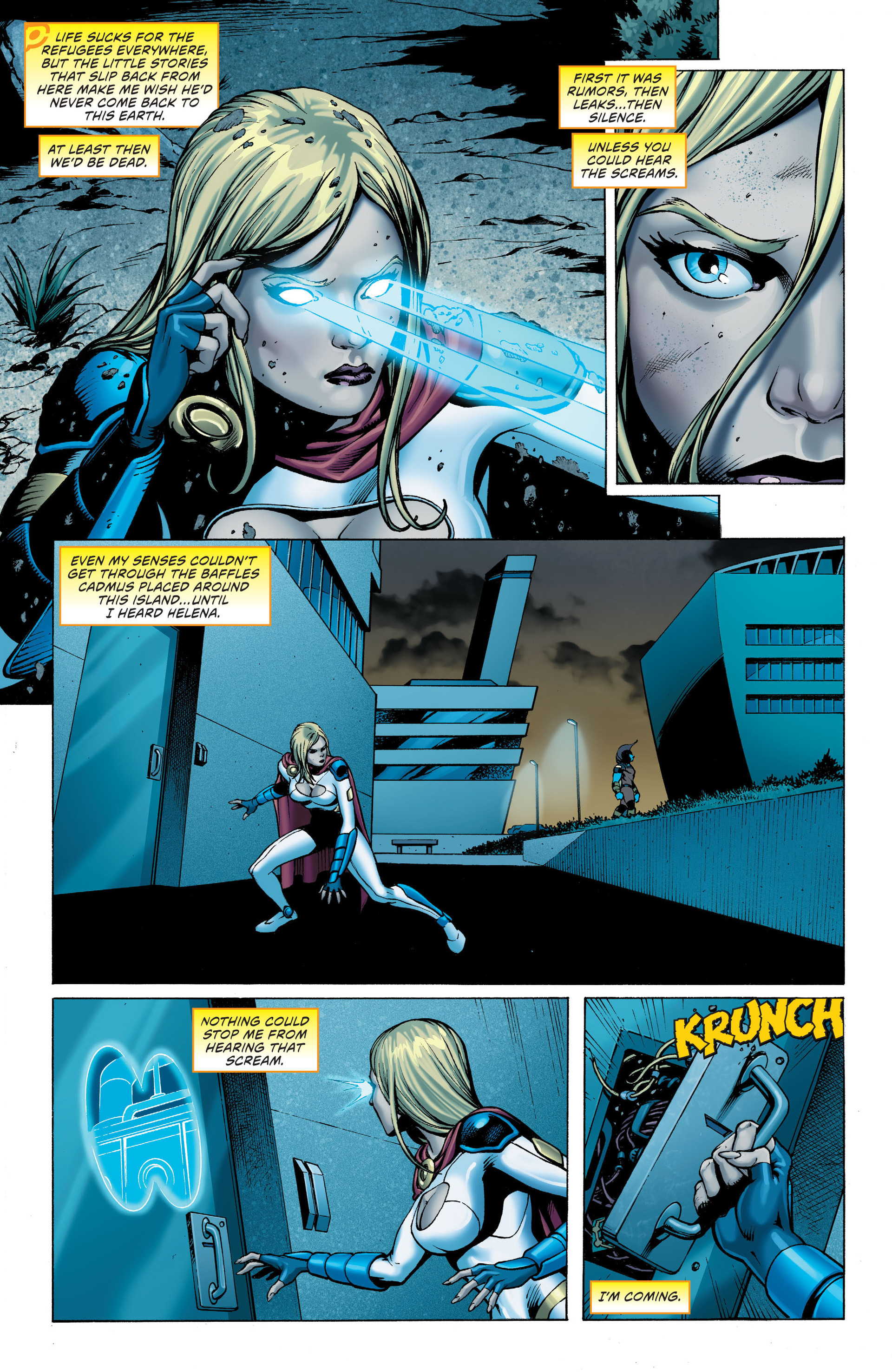 Read online Worlds' Finest: Futures End comic -  Issue # Full - 4