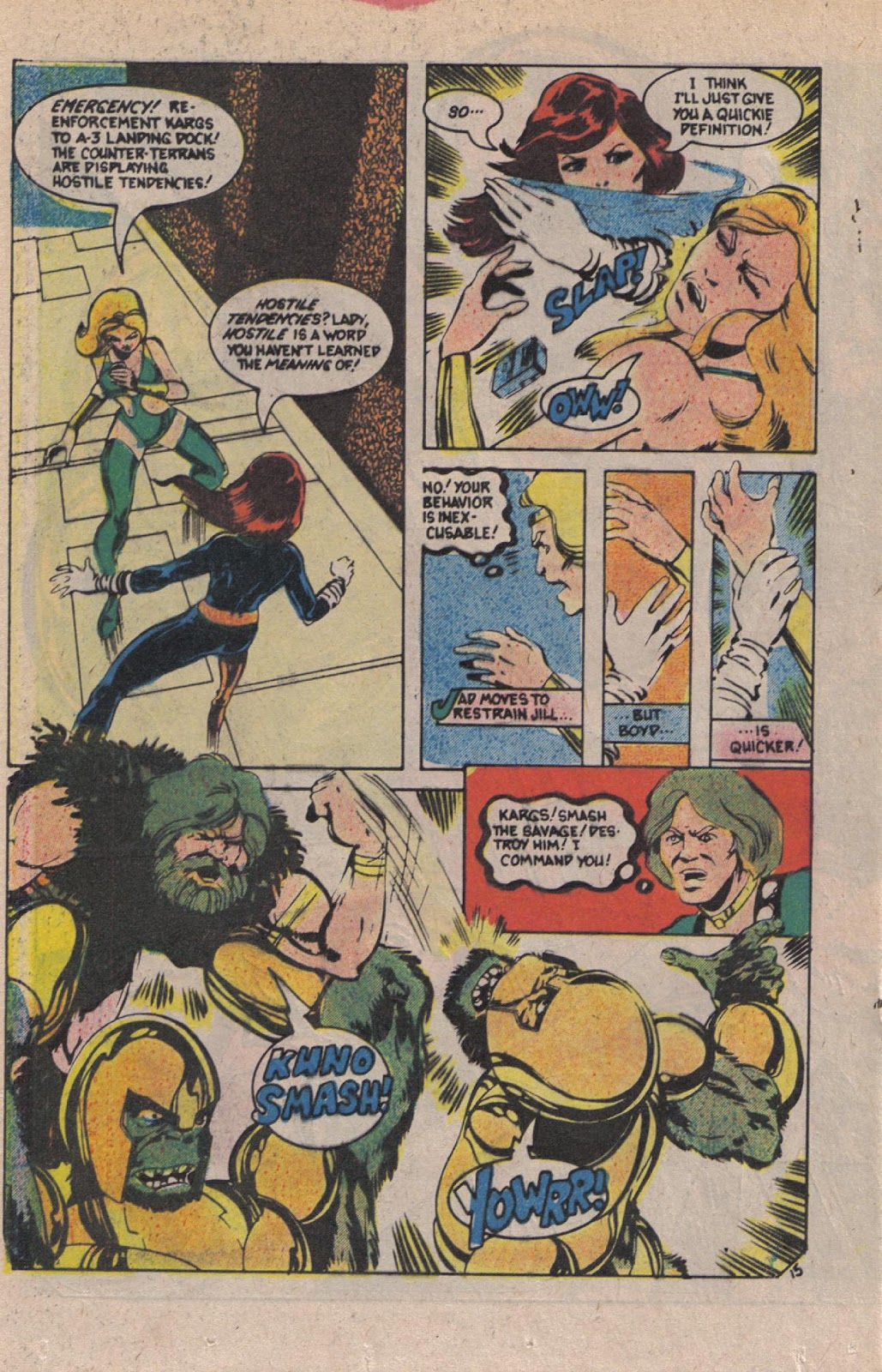 Read online Doomsday   1 (1975) comic -  Issue #12 - 19