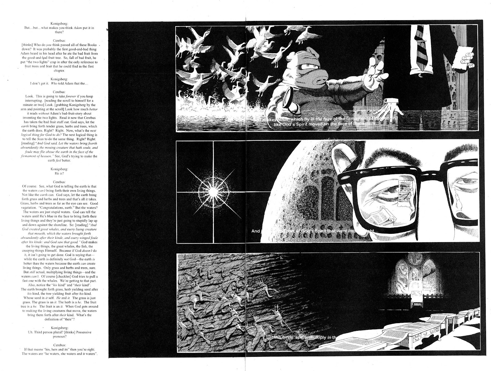Cerebus Issue #280 #279 - English 14