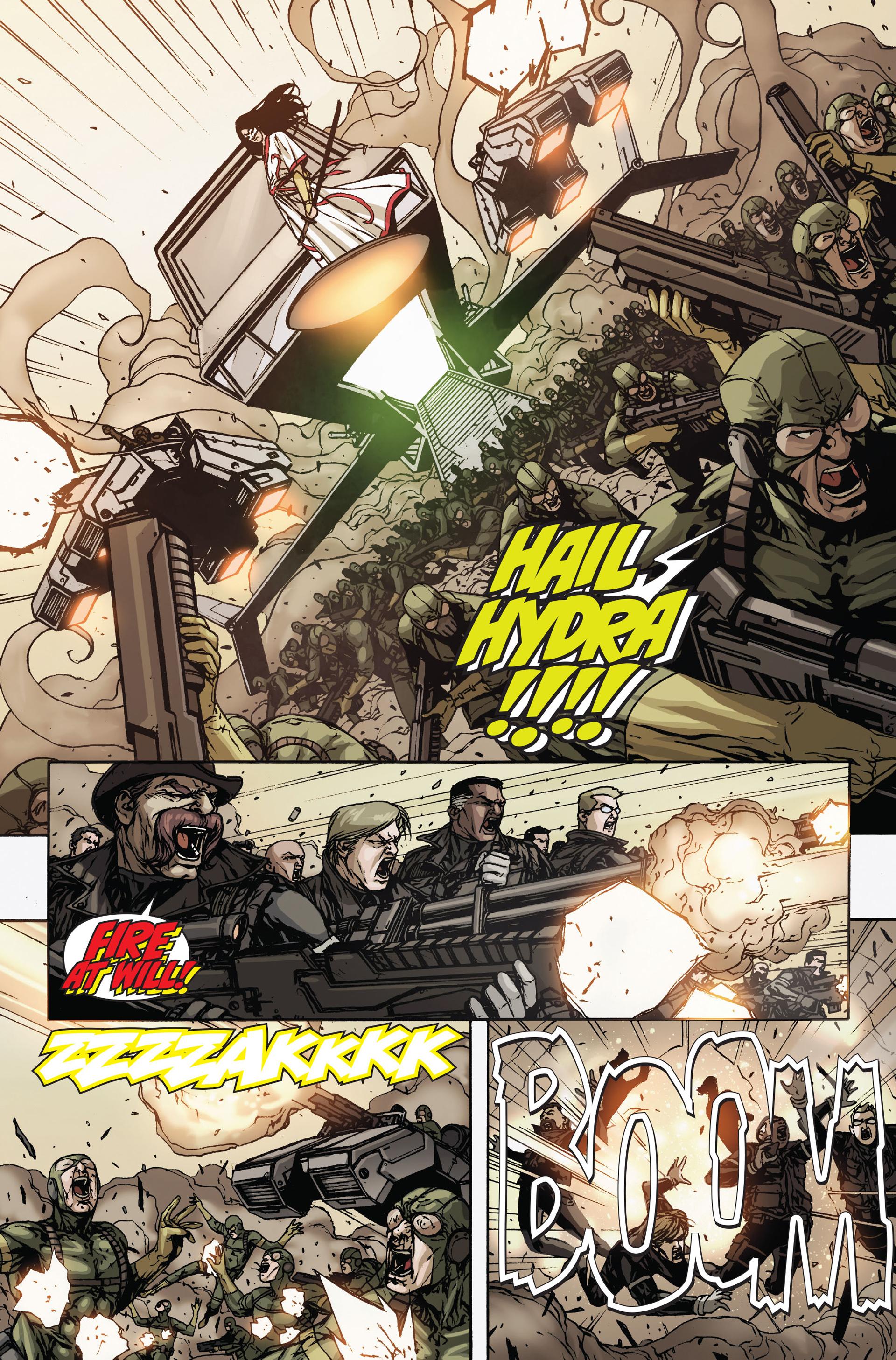 Read online Secret Warriors comic -  Issue #19 - 10
