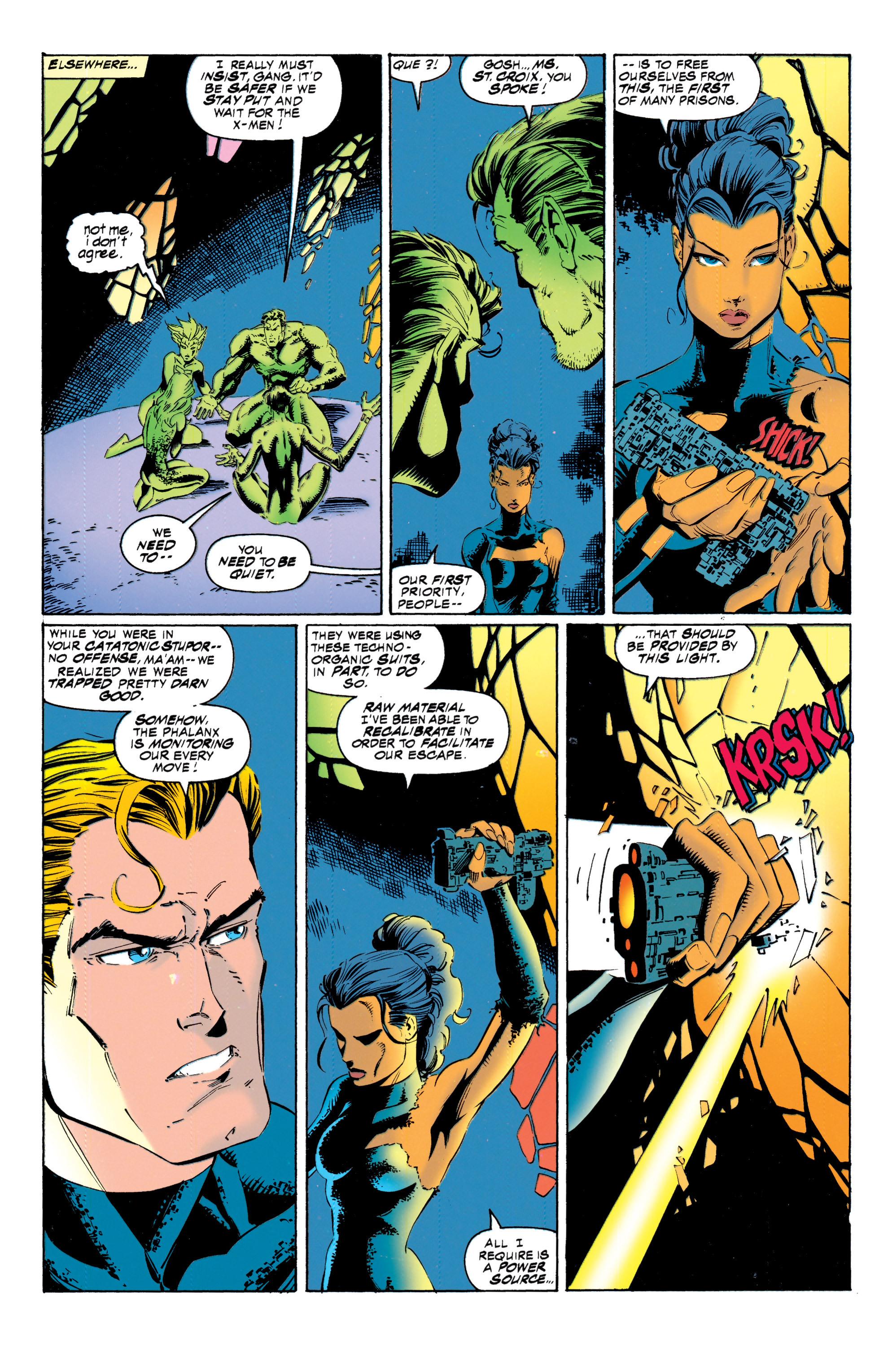 Read online Uncanny X-Men (1963) comic -  Issue #317 - 17