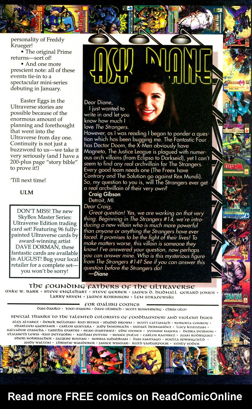Read online UltraForce (1994) comic -  Issue #1 - 29