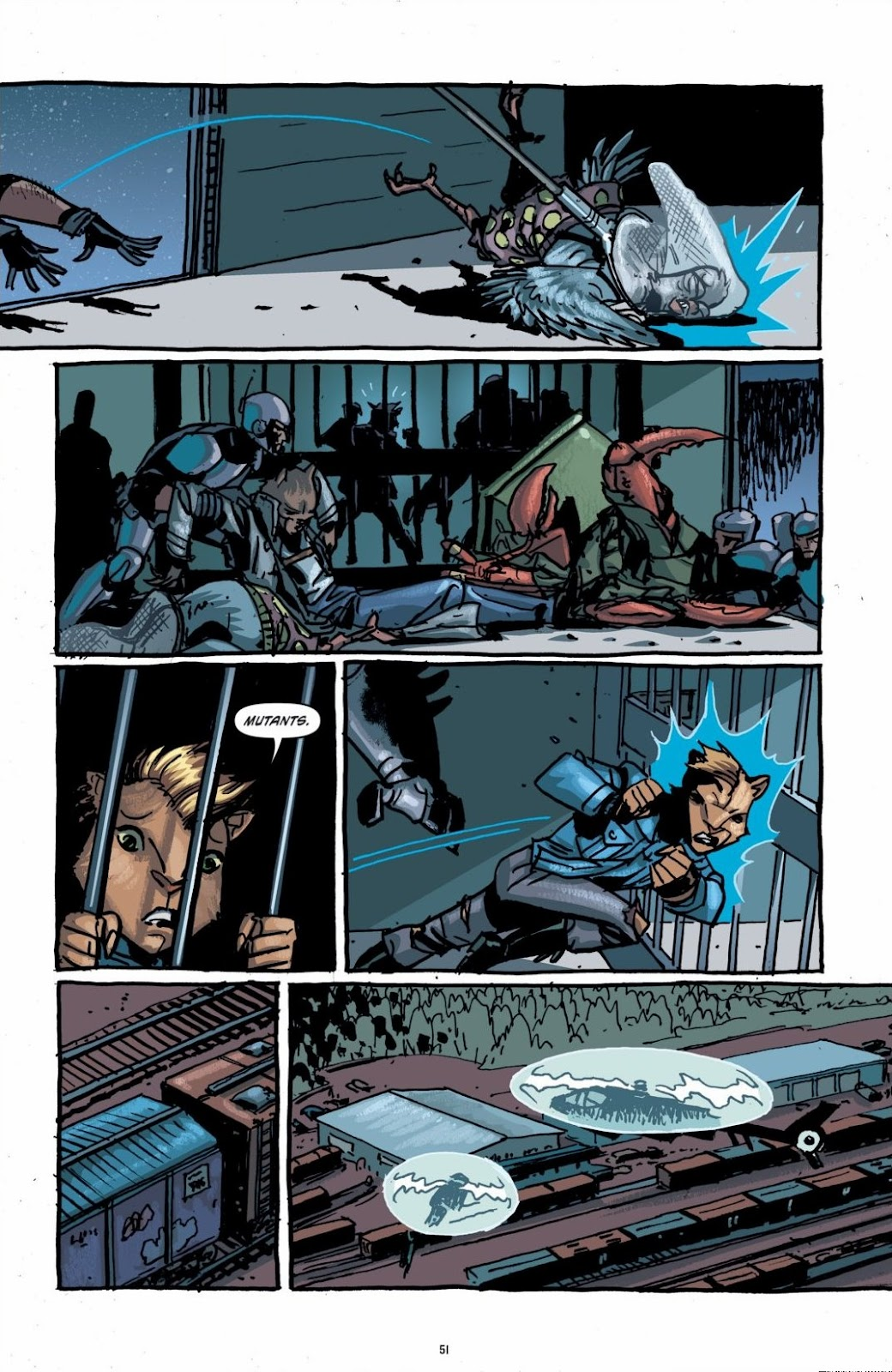 Read online Teenage Mutant Ninja Turtles: The IDW Collection comic -  Issue # TPB 6 (Part 1) - 50