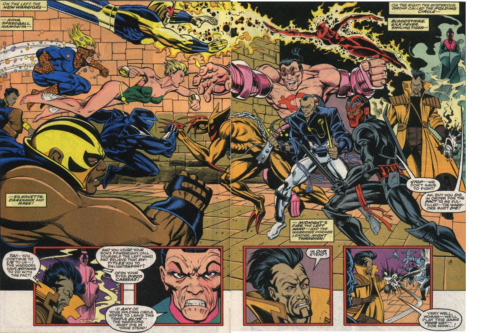 The New Warriors Issue #24 #28 - English 3